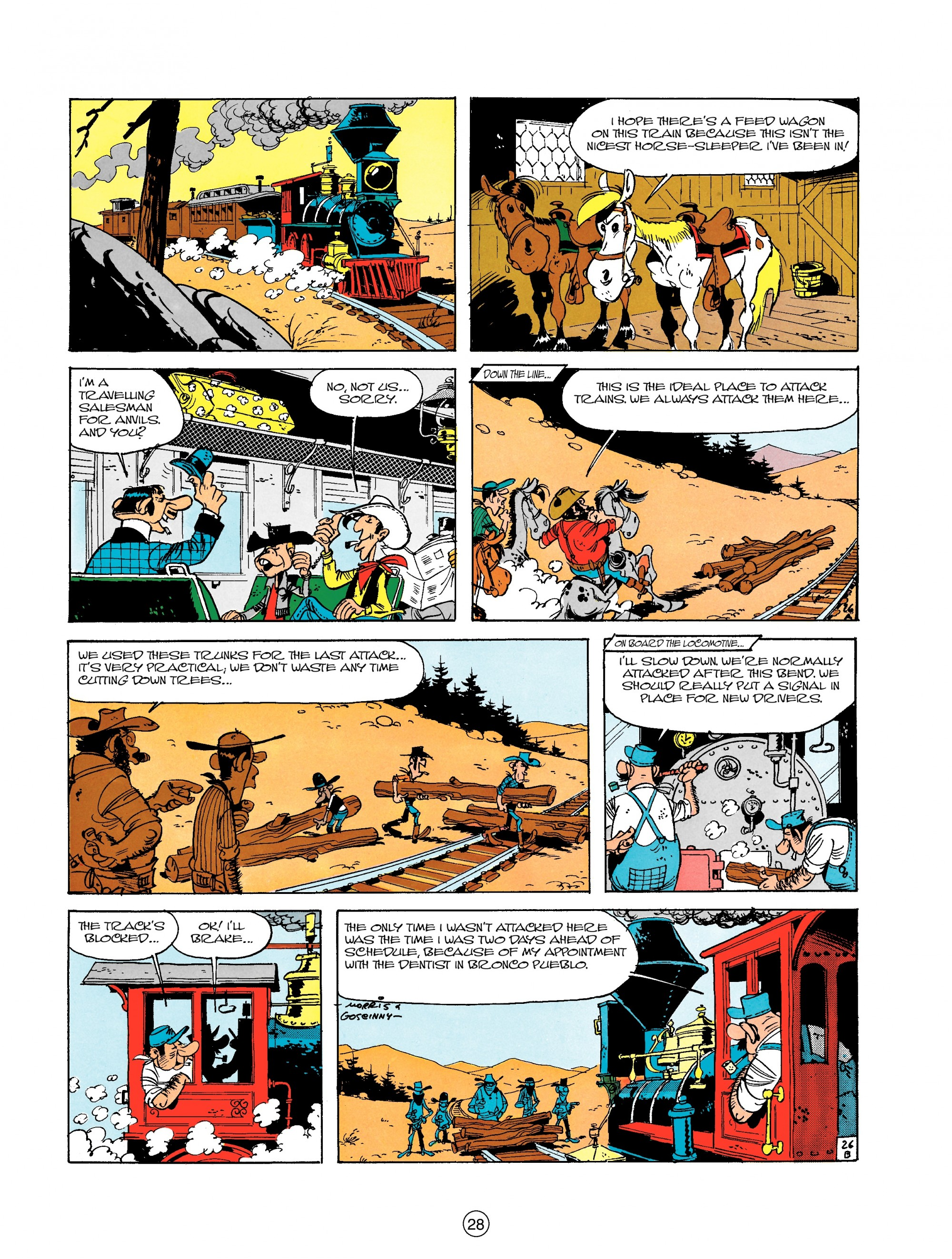 Read online A Lucky Luke Adventure comic -  Issue #18 - 28