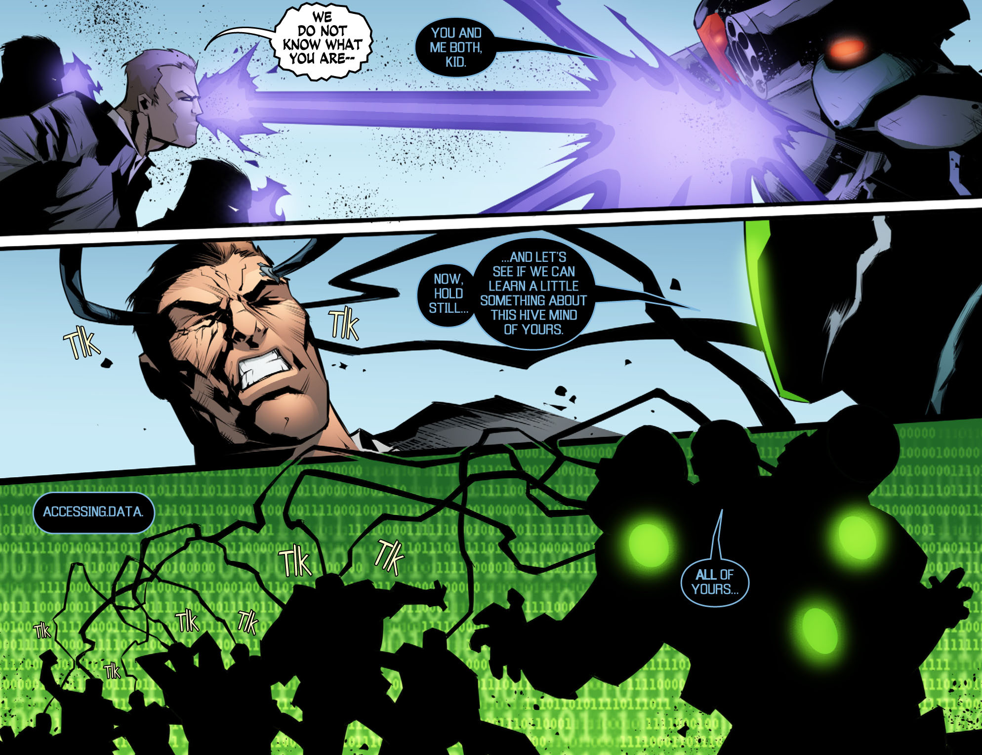 Read online Smallville: Chaos [II] comic -  Issue #10 - 10
