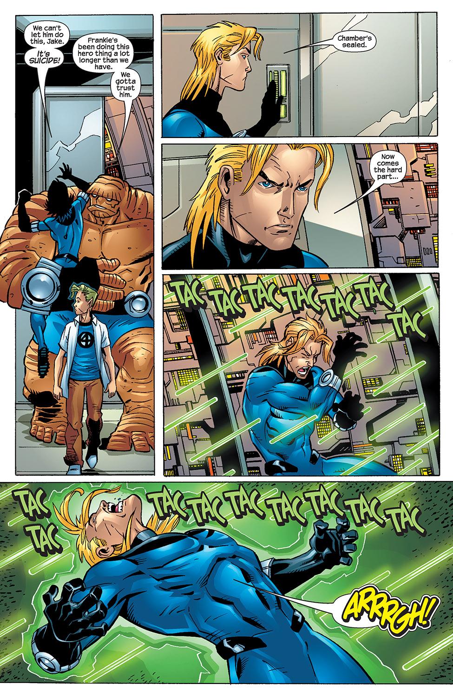 Read online Fantastic Five (2007) comic -  Issue #4 - 13