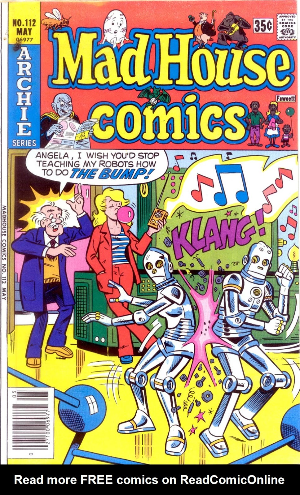 Read online Madhouse Comics comic -  Issue #112 - 1