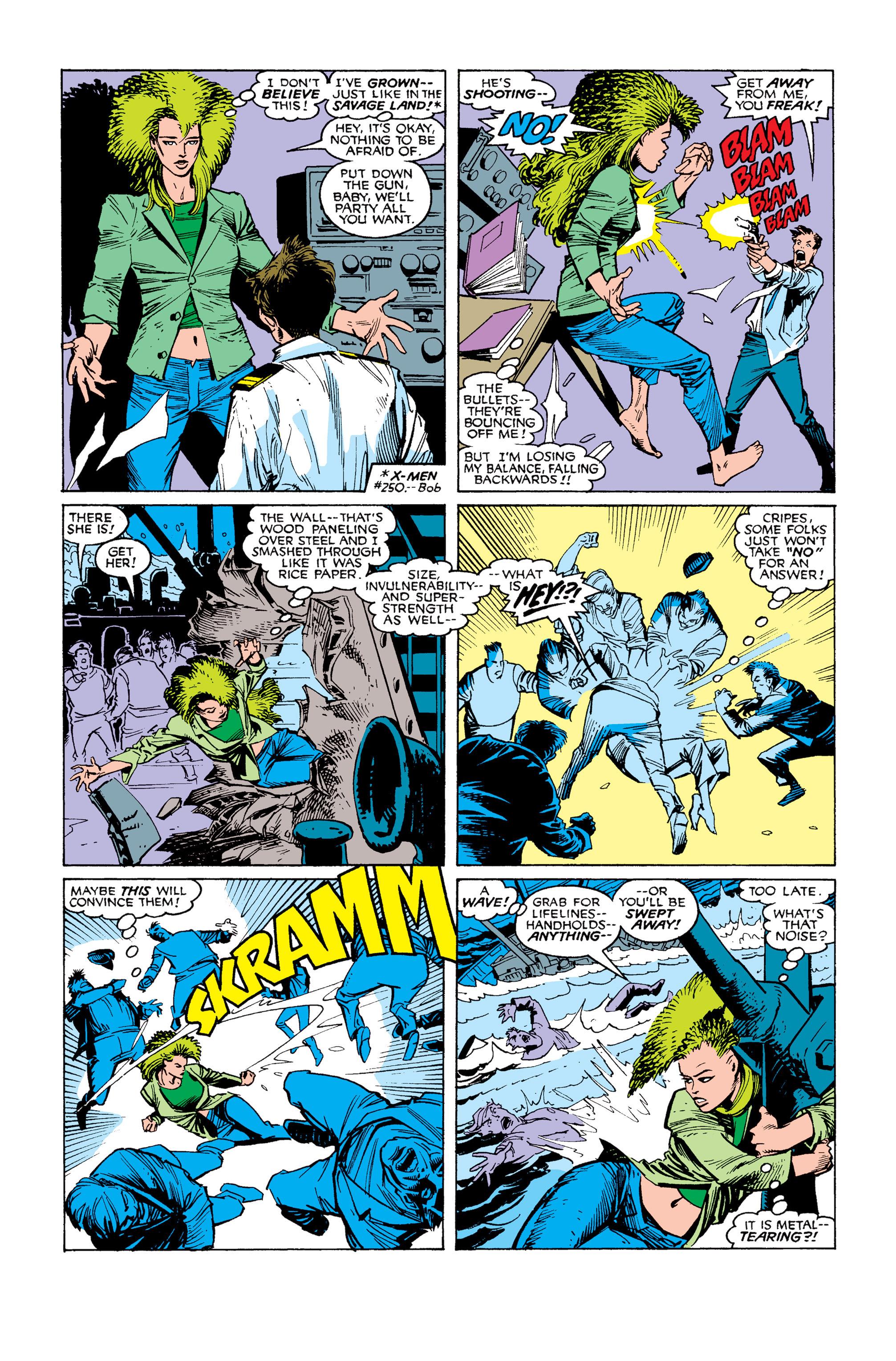 Read online Uncanny X-Men (1963) comic -  Issue #253 - 17