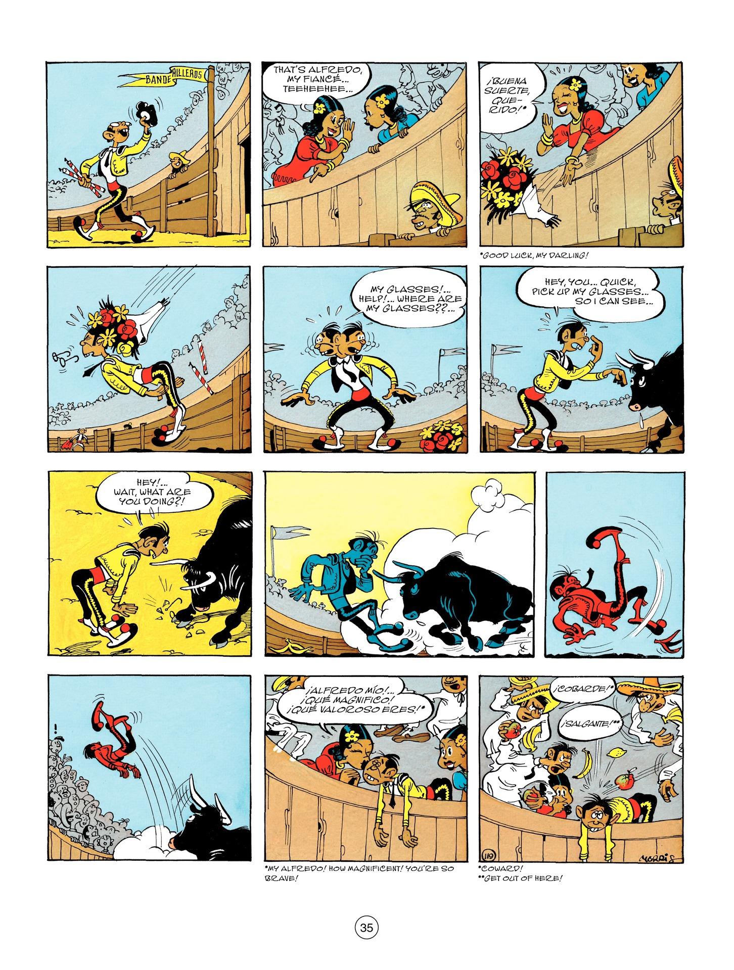 Read online A Lucky Luke Adventure comic -  Issue #55 - 35