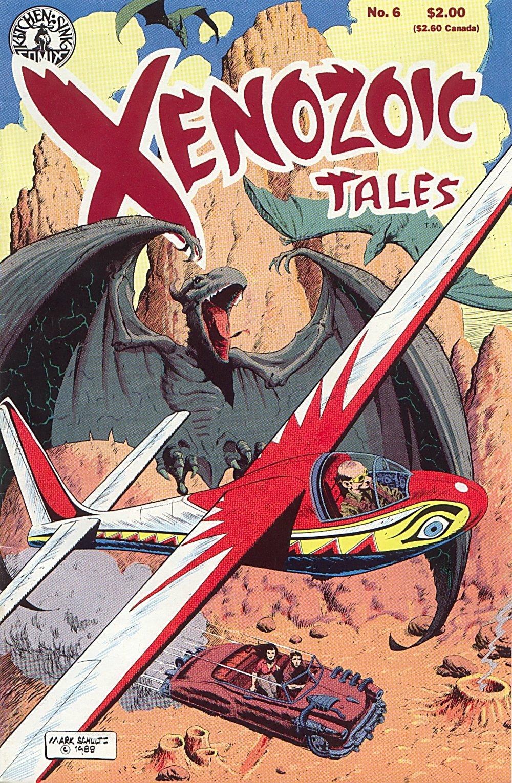 Read online Xenozoic Tales comic -  Issue #6 - 2