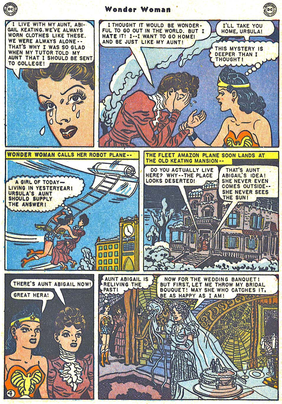 Read online Wonder Woman (1942) comic -  Issue #38 - 6