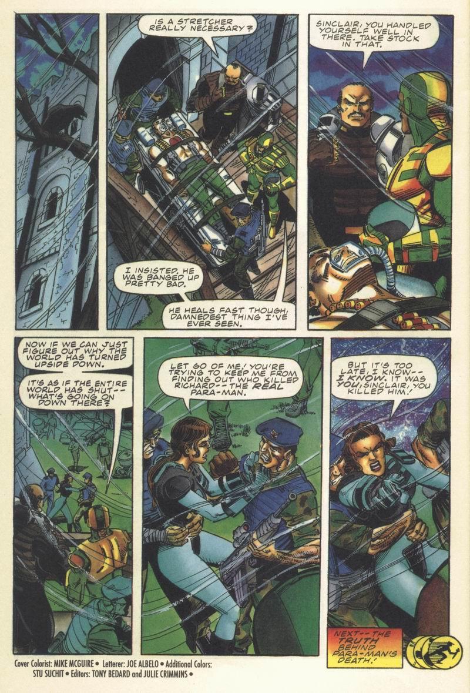 Read online Secret Weapons comic -  Issue #13 - 22