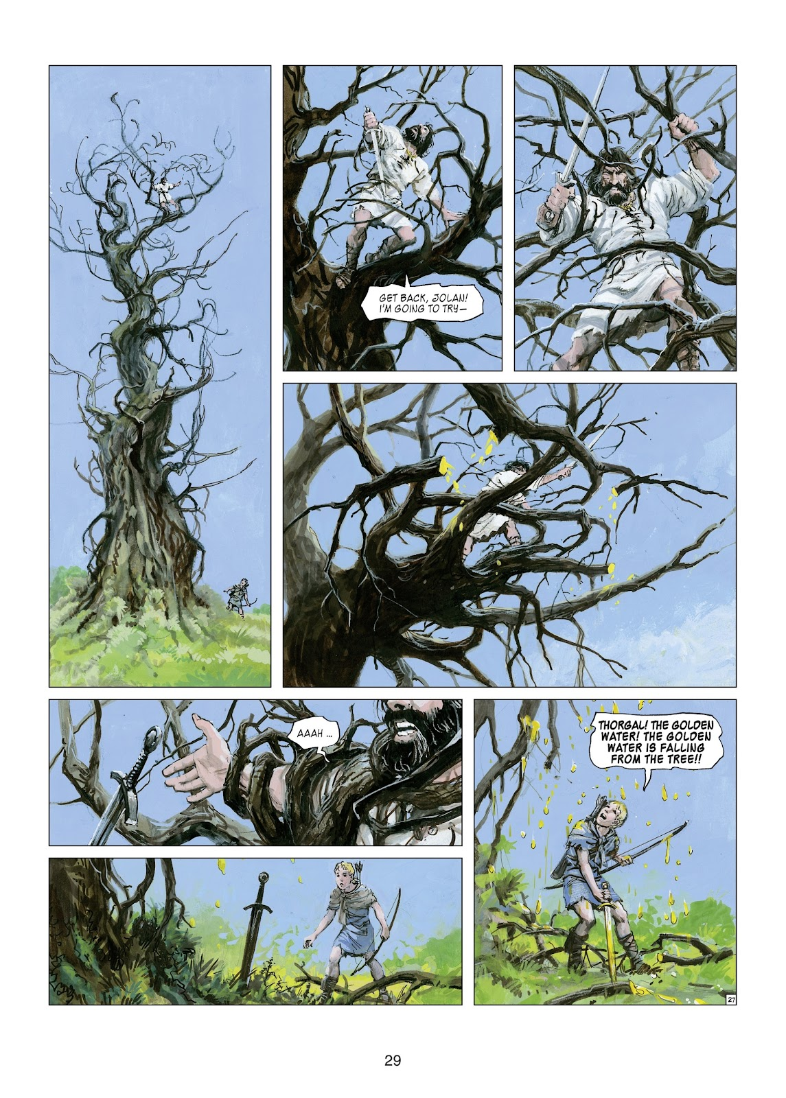 Read online Thorgal comic -  Issue #21 - 31