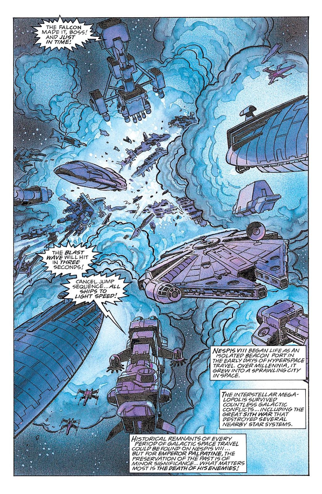 Read online Star Wars: Dark Empire Trilogy comic -  Issue # TPB (Part 4) - 22