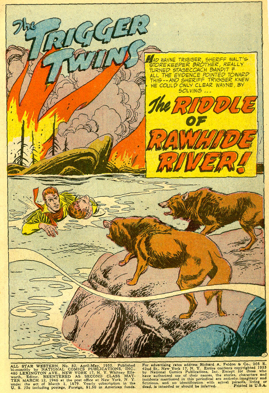 Read online All-Star Western (1951) comic -  Issue #82 - 3