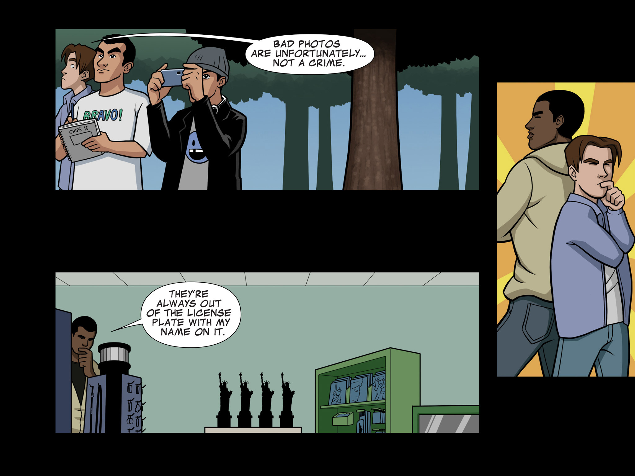 Read online Ultimate Spider-Man (Infinite Comics) (2015) comic -  Issue #7 - 9