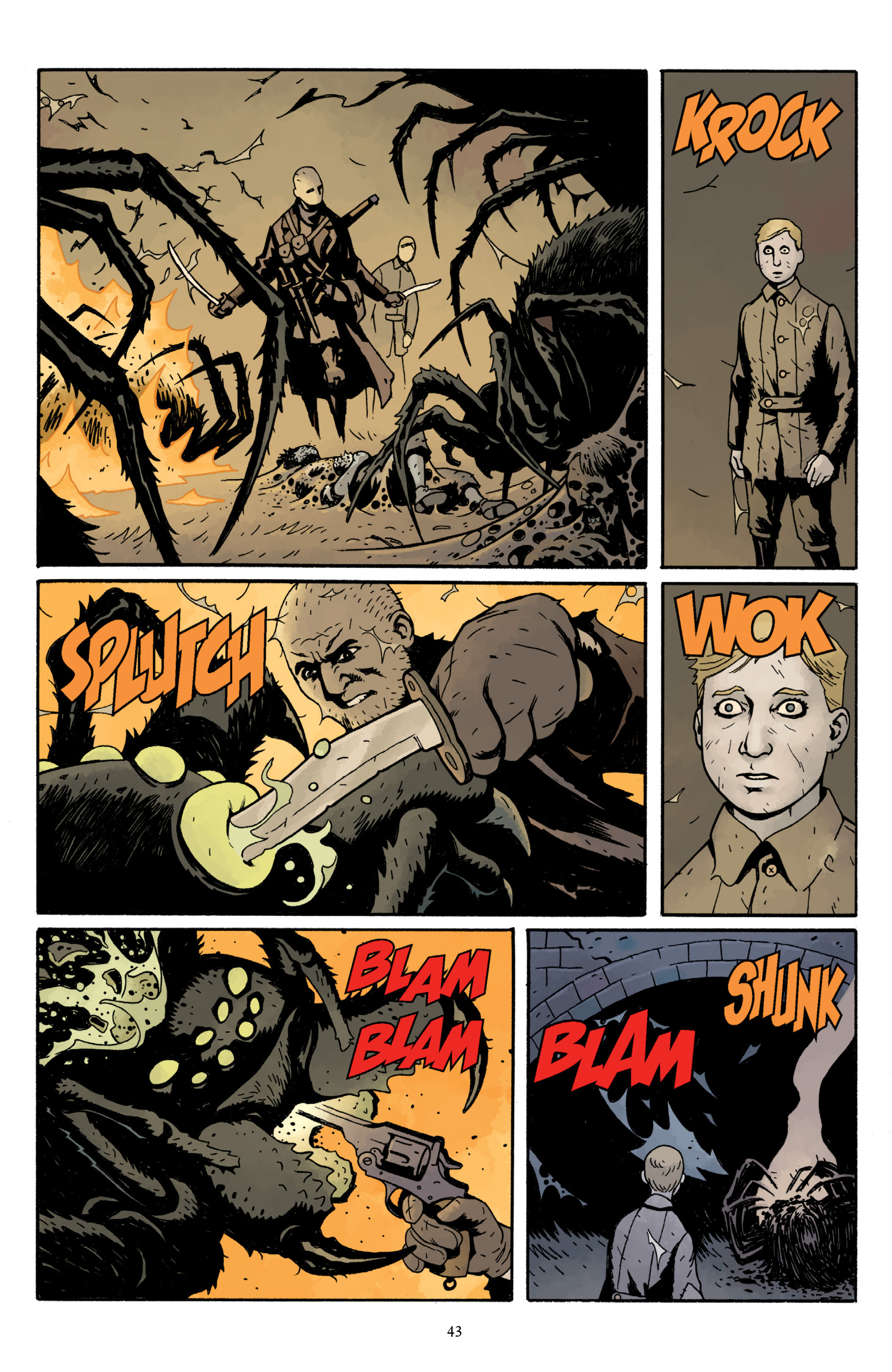 Read online Baltimore Volume 3: A Passing Stranger and Other Stories comic -  Issue # Full - 45