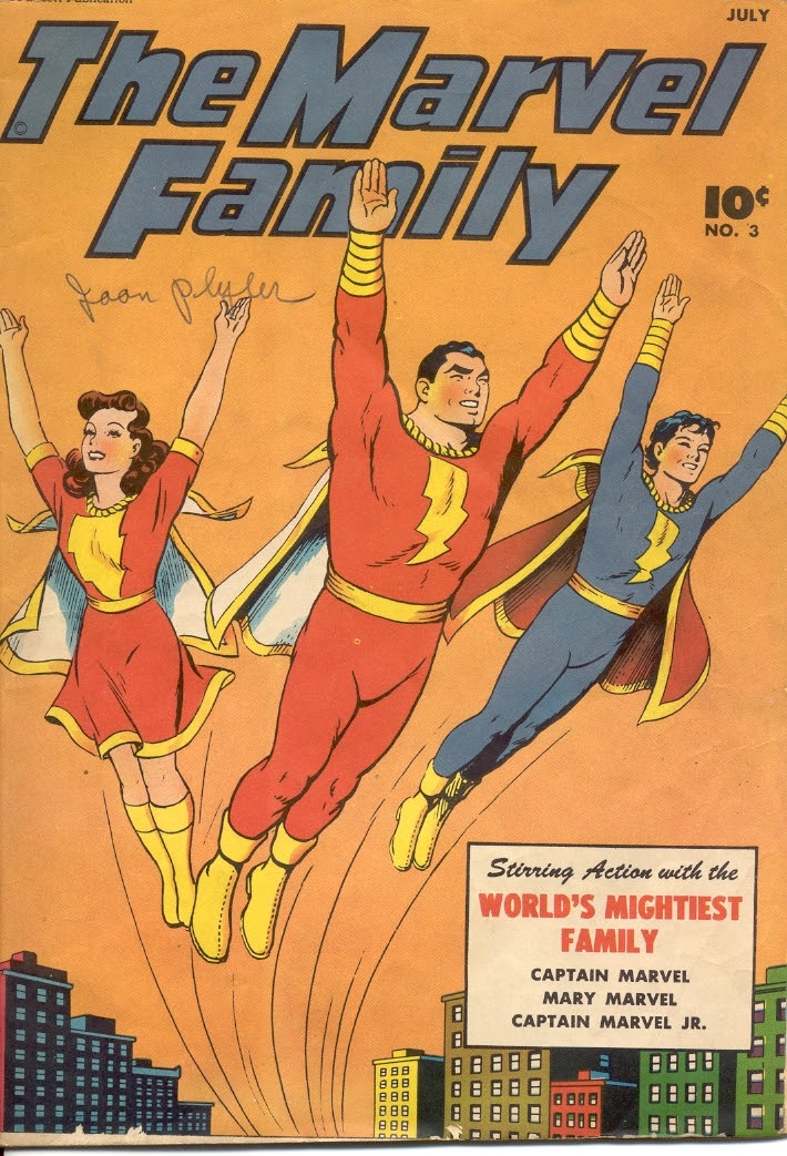 The Marvel Family issue 3 - Page 1