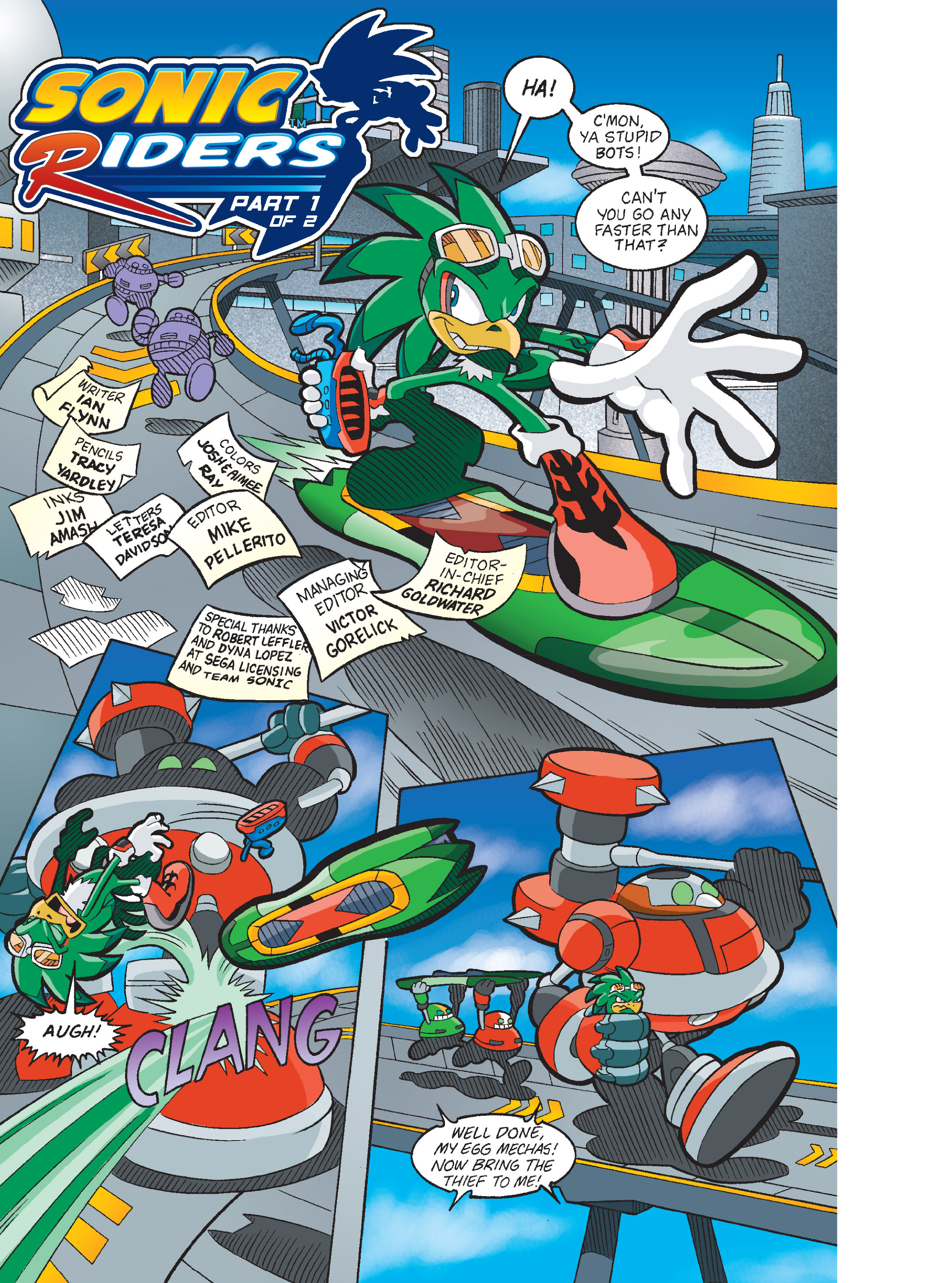 Read online Sonic Super Digest comic -  Issue #8 - 17