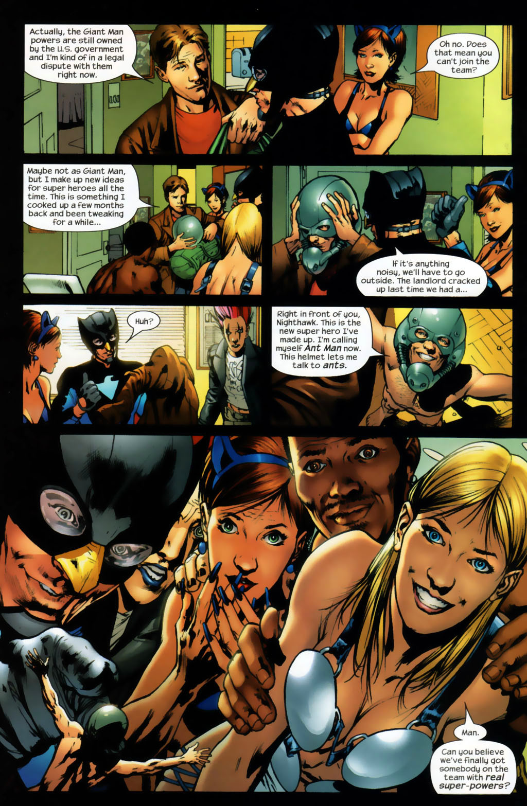 Read online Ultimates 2 comic -  Issue #6 - 6