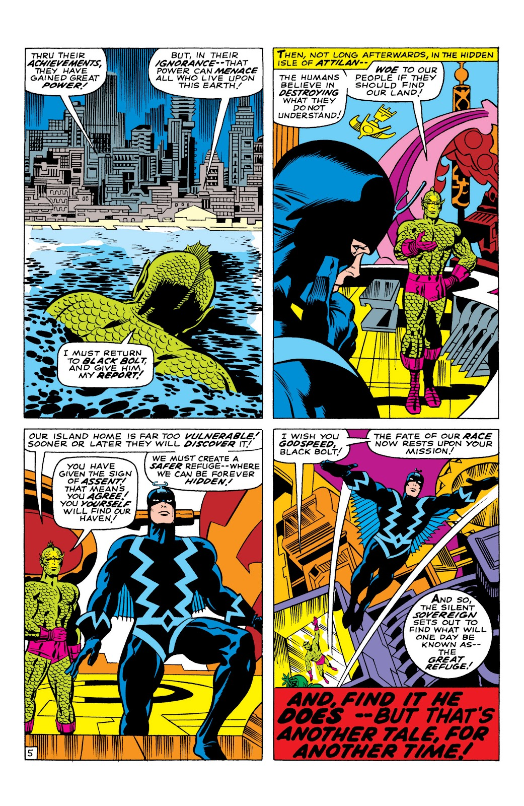 Read online Marvel Masterworks: The Inhumans comic -  Issue # TPB 1 (Part 1) - 42
