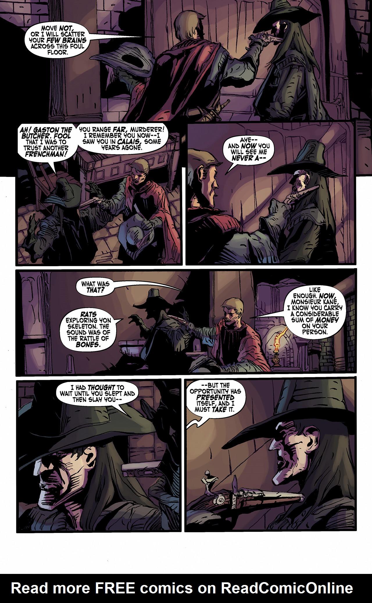 Read online Solomon Kane: Death's Black Riders comic -  Issue #2 - 16