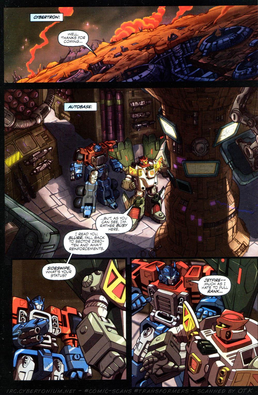 Read online Transformers Armada comic -  Issue #10 - 11