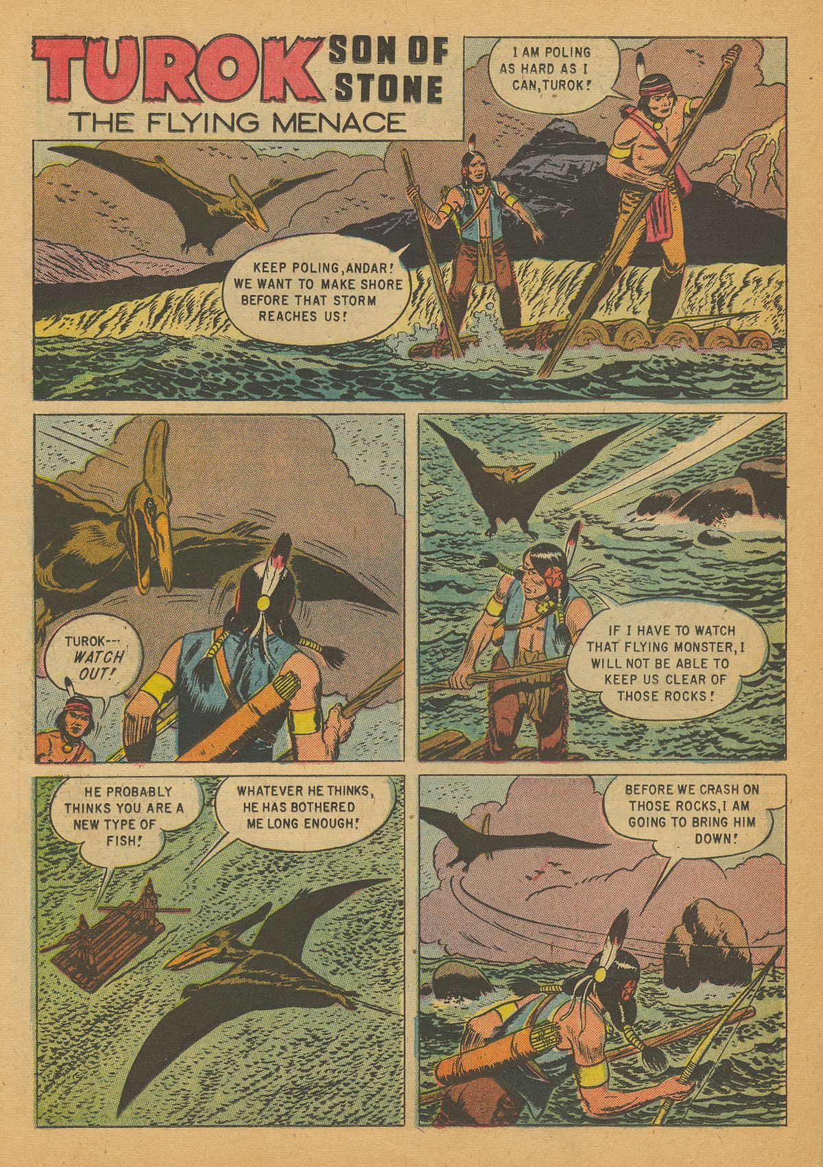 Read online Turok, Son of Stone comic -  Issue #14 - 22