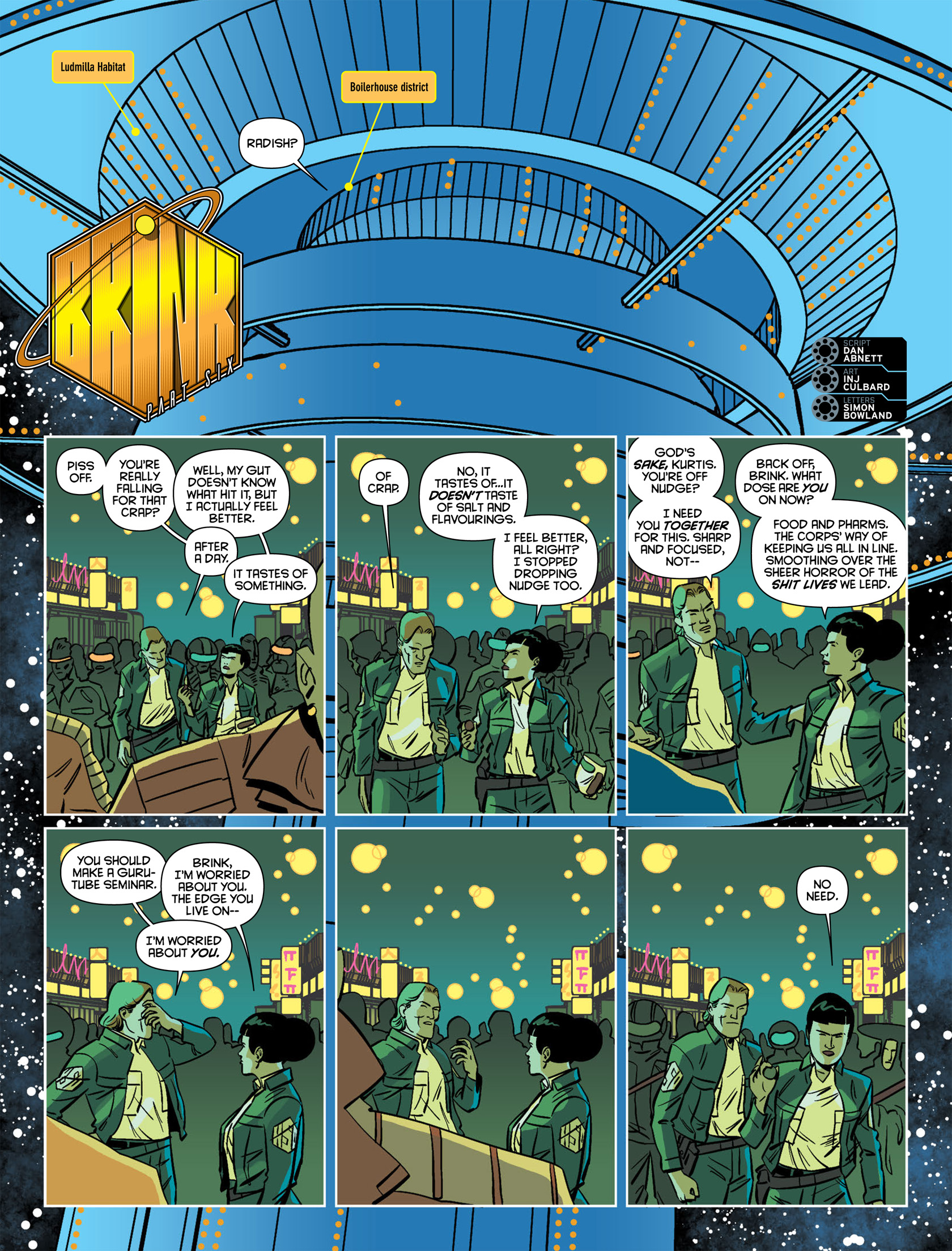 Read online 2000 AD comic -  Issue #1983 - 16