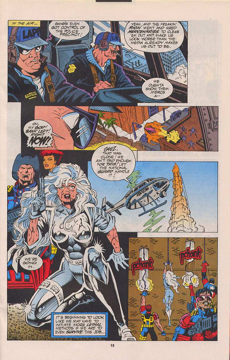 Read online Silver Sable and the Wild Pack comic -  Issue #21 - 12