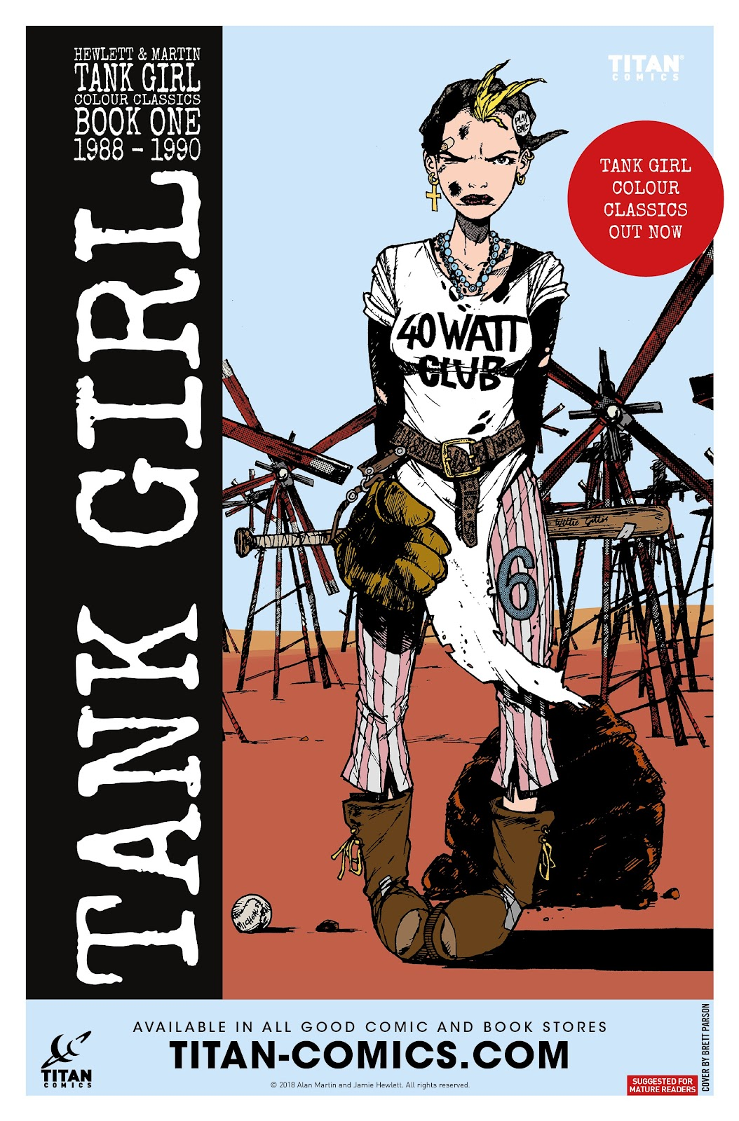 Read online Tank Girl Ongoing comic -  Issue #3 - 28