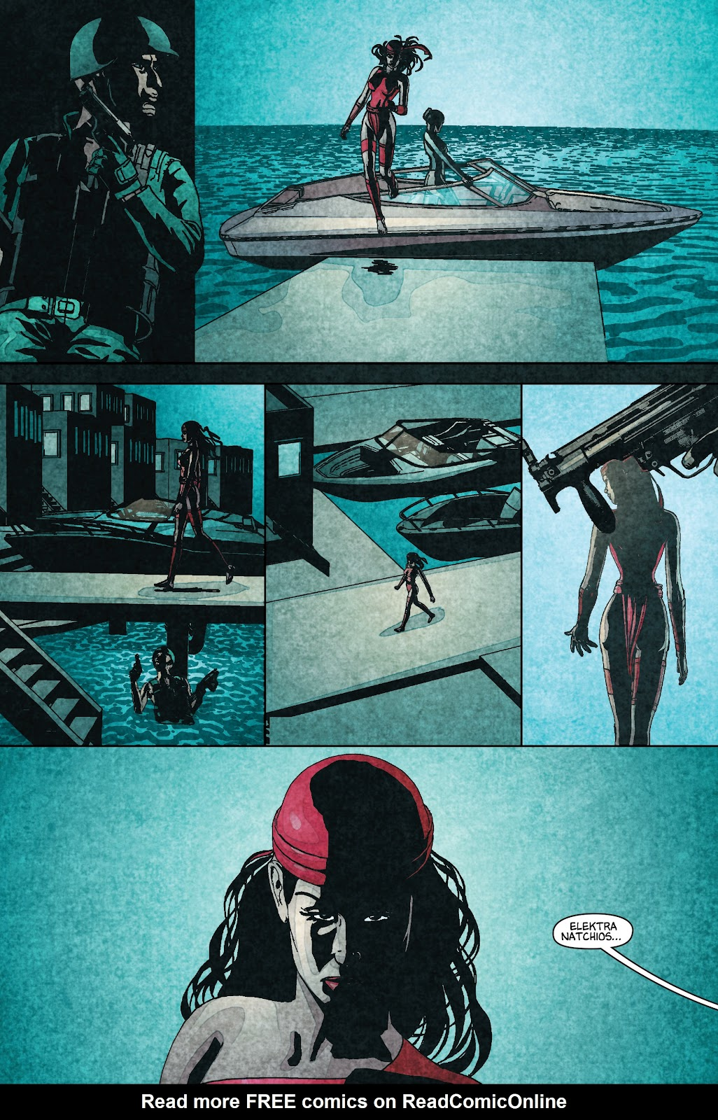 Read online Elektra (2001) comic -  Issue # _TPB Elektra by Greg Rucka Ultimate Collection (Part 1) - 33