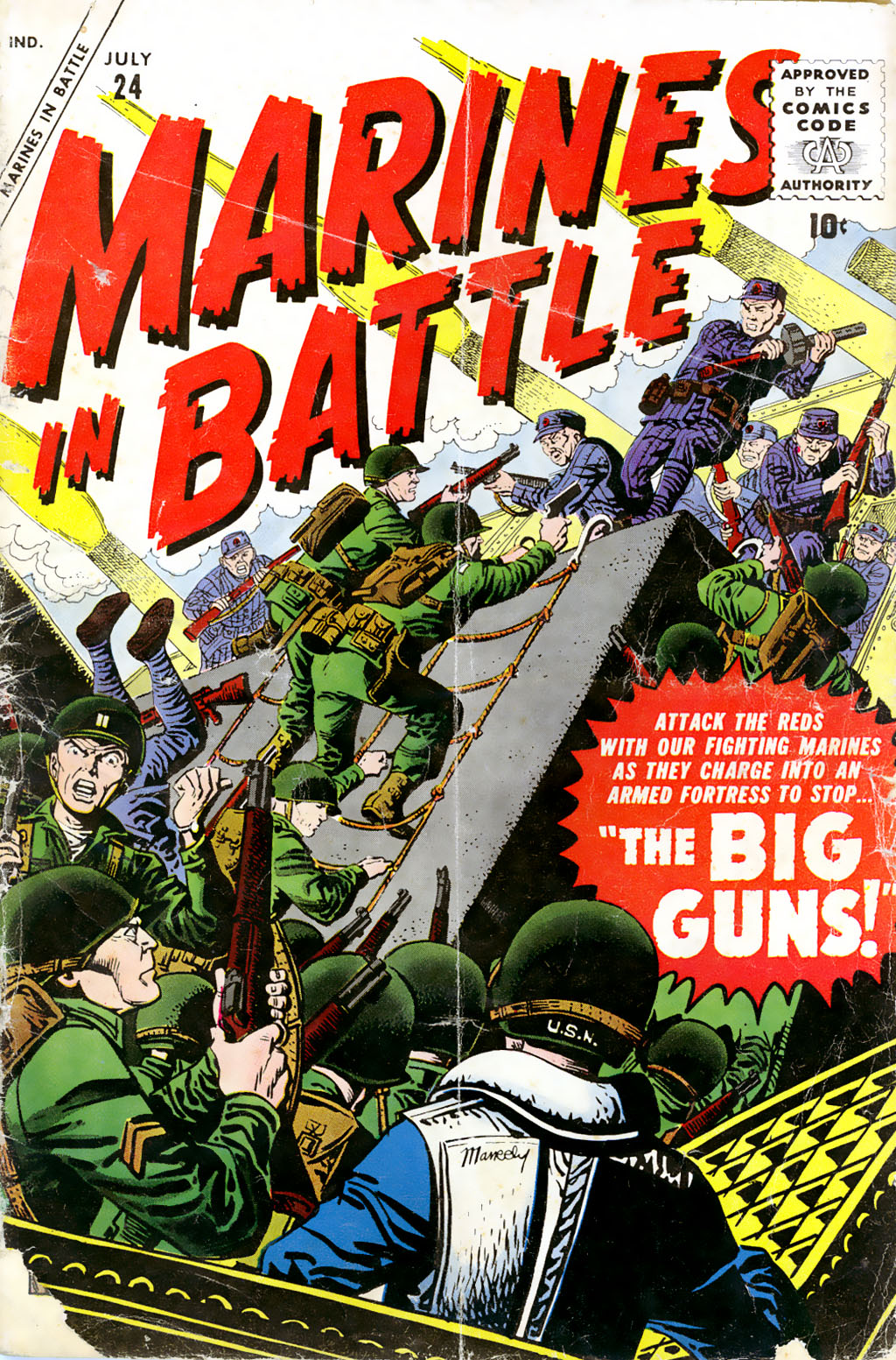 Marines in Battle 24 Page 1