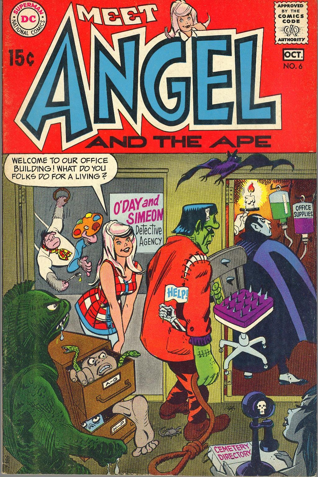 Angel And The Ape (1968) 6 Page 1