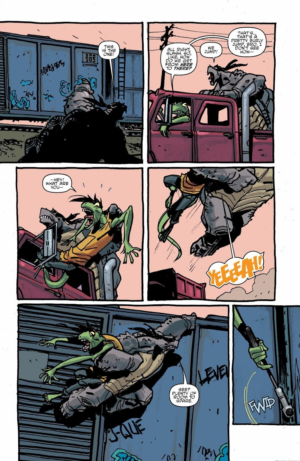 Read online Teenage Mutant Ninja Turtles: The IDW Collection comic -  Issue # TPB 6 (Part 1) - 57