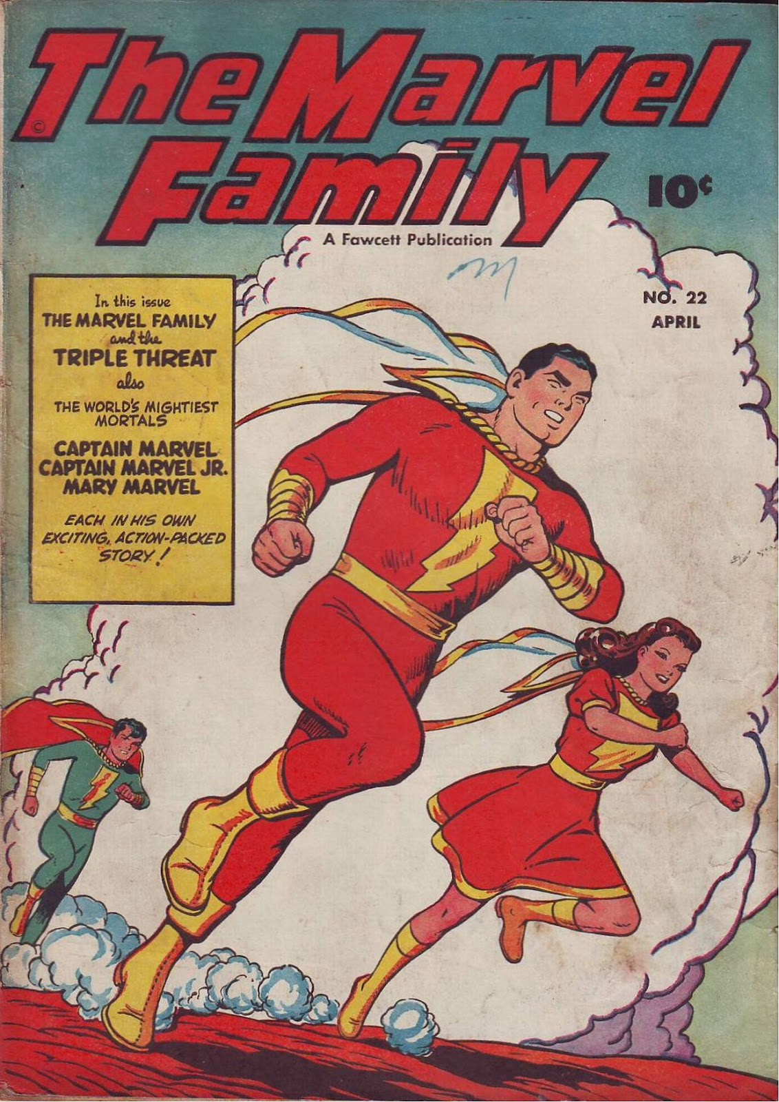 The Marvel Family 22 Page 1