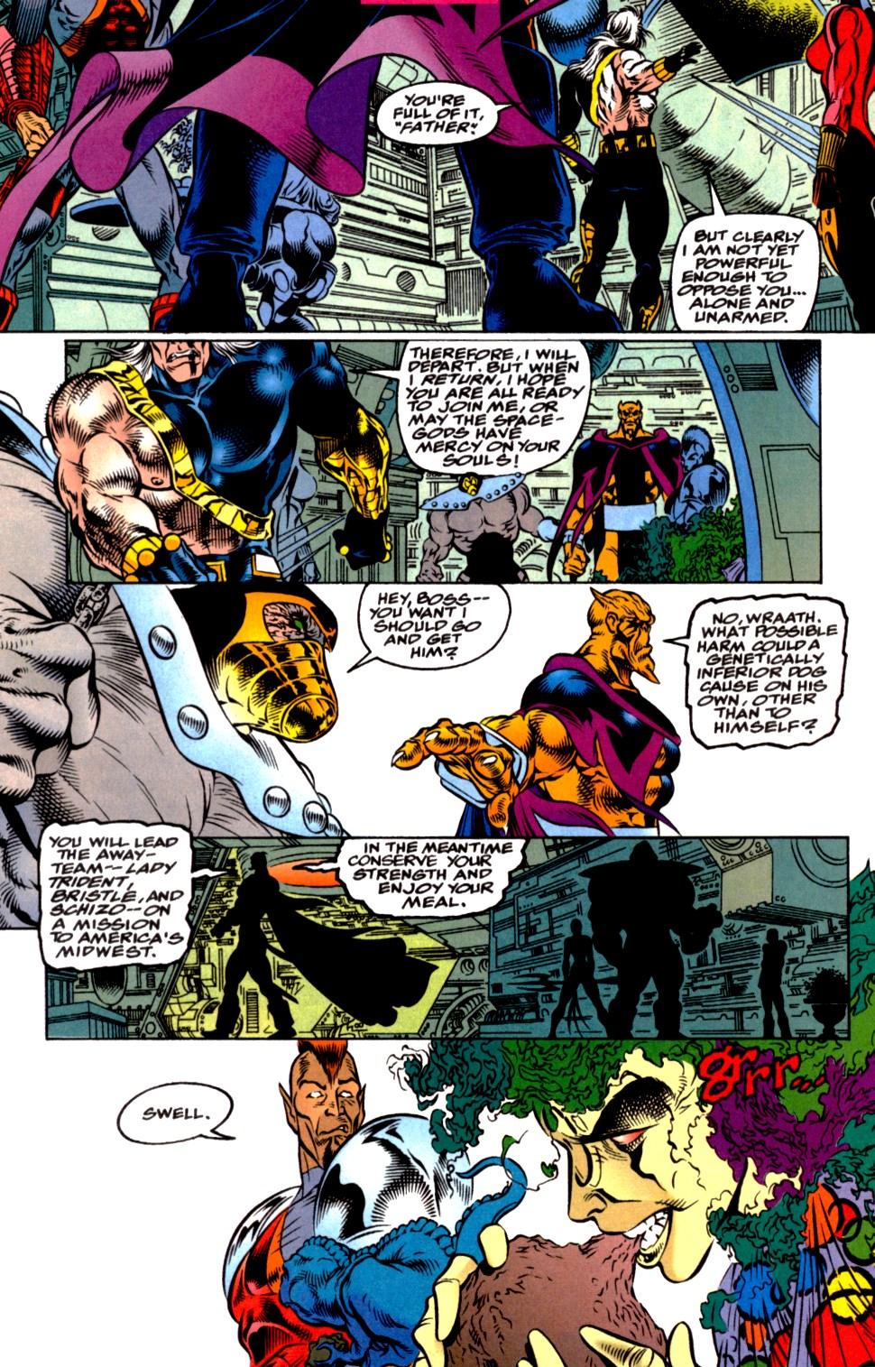 Read online Blackwulf comic -  Issue #2 - 7