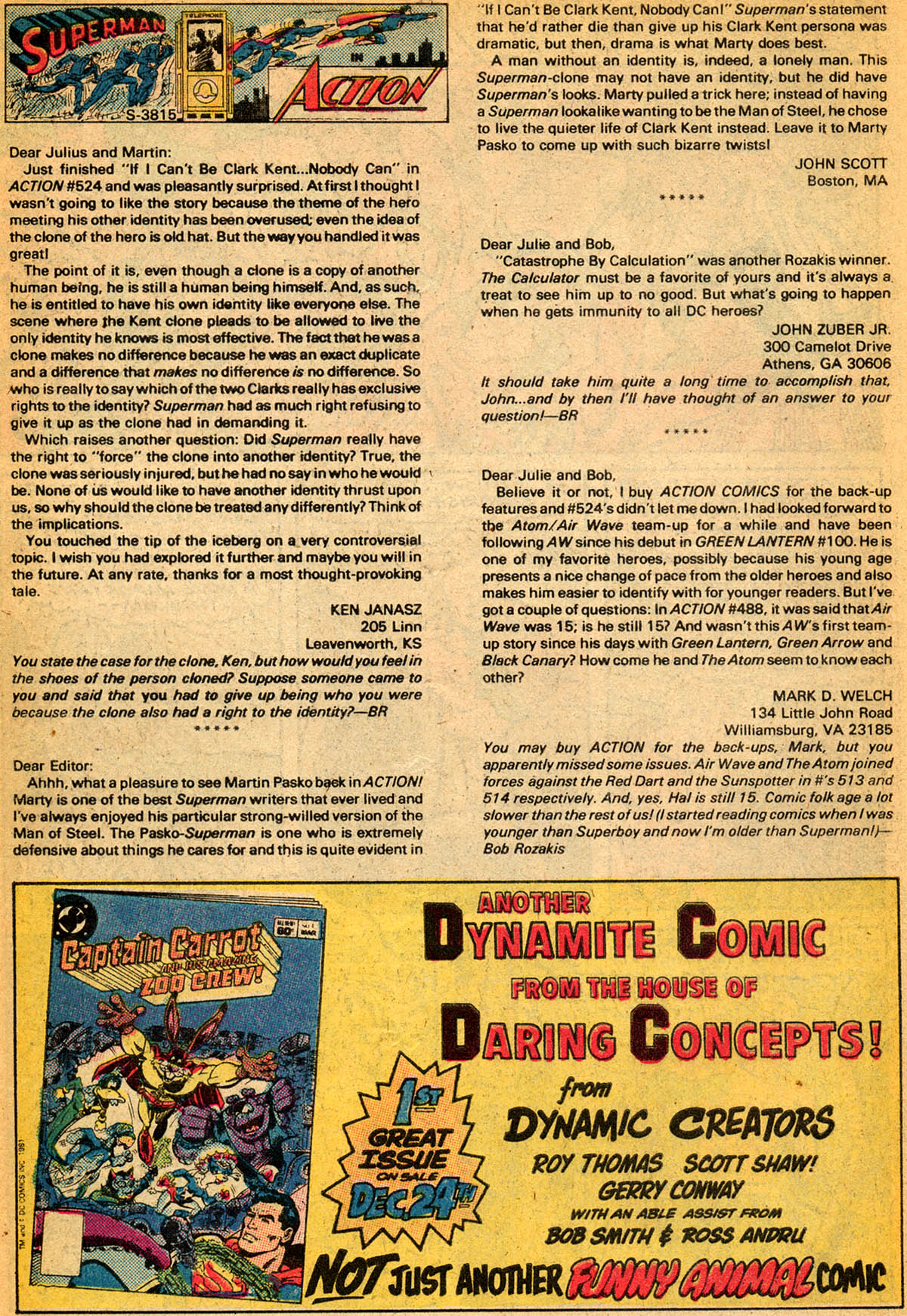 Read online Action Comics (1938) comic -  Issue #529 - 29