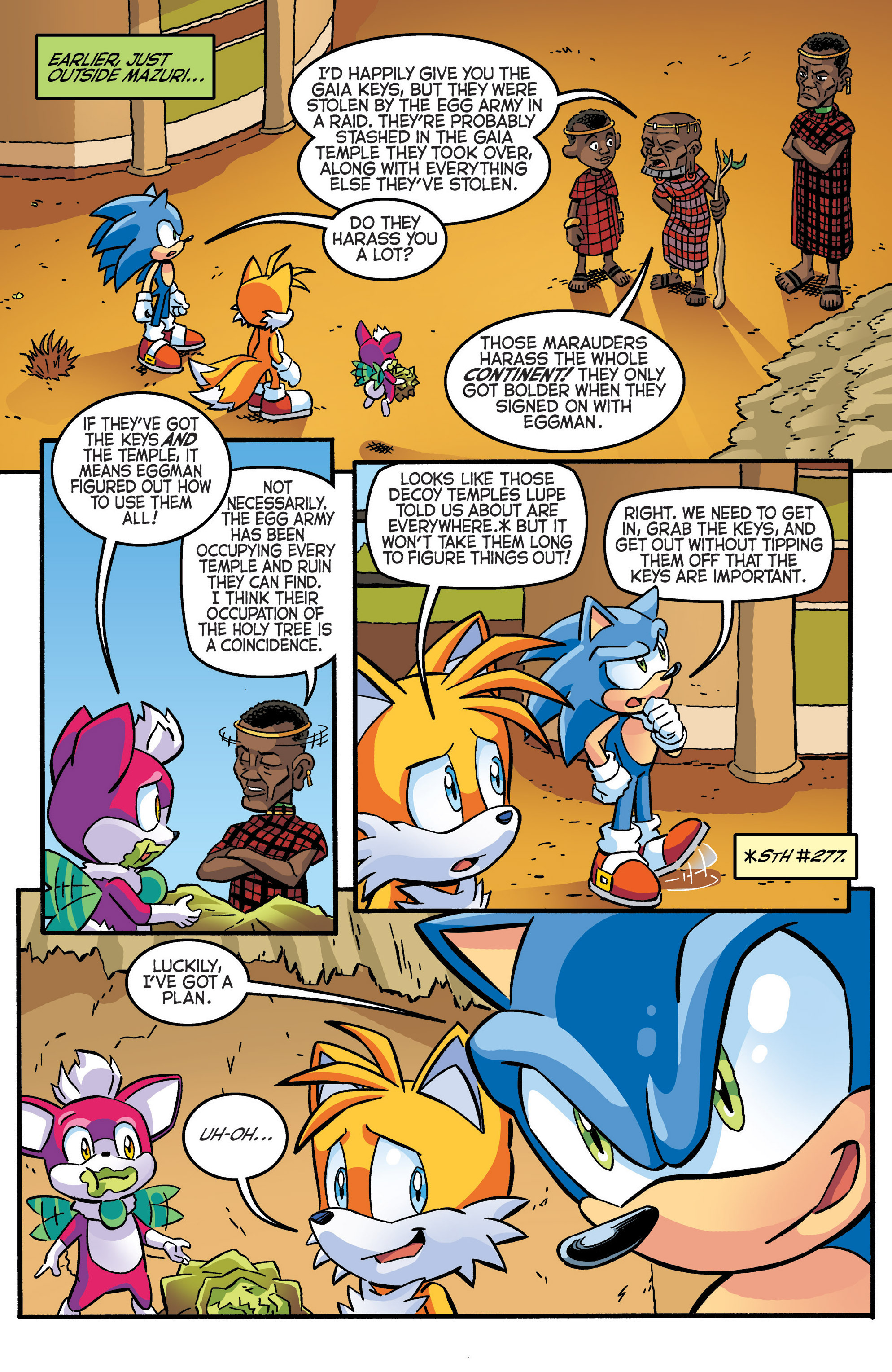 Read online Sonic The Hedgehog comic -  Issue #280 - 6