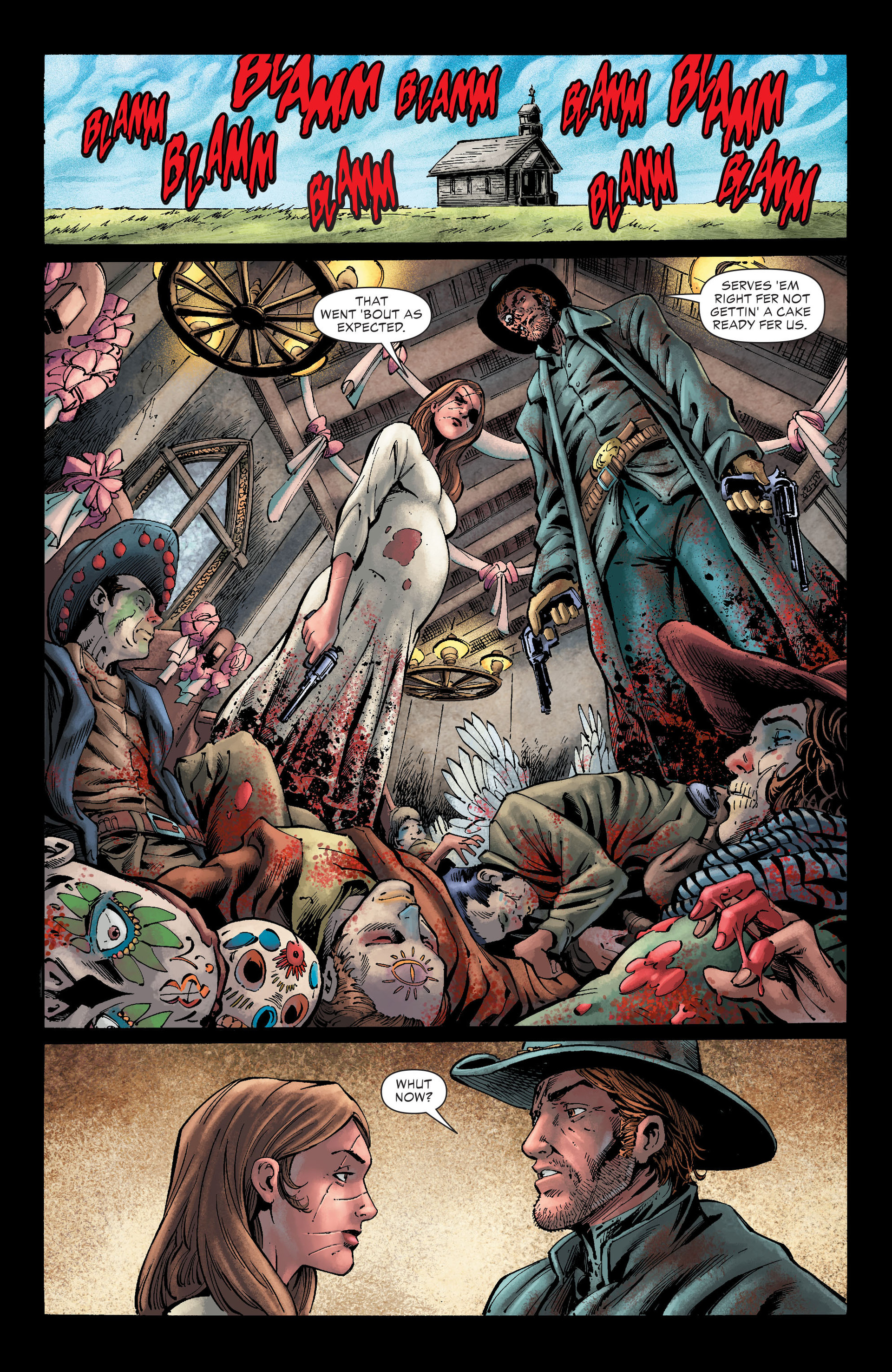 Read online All-Star Western (2011) comic -  Issue #26 - 12
