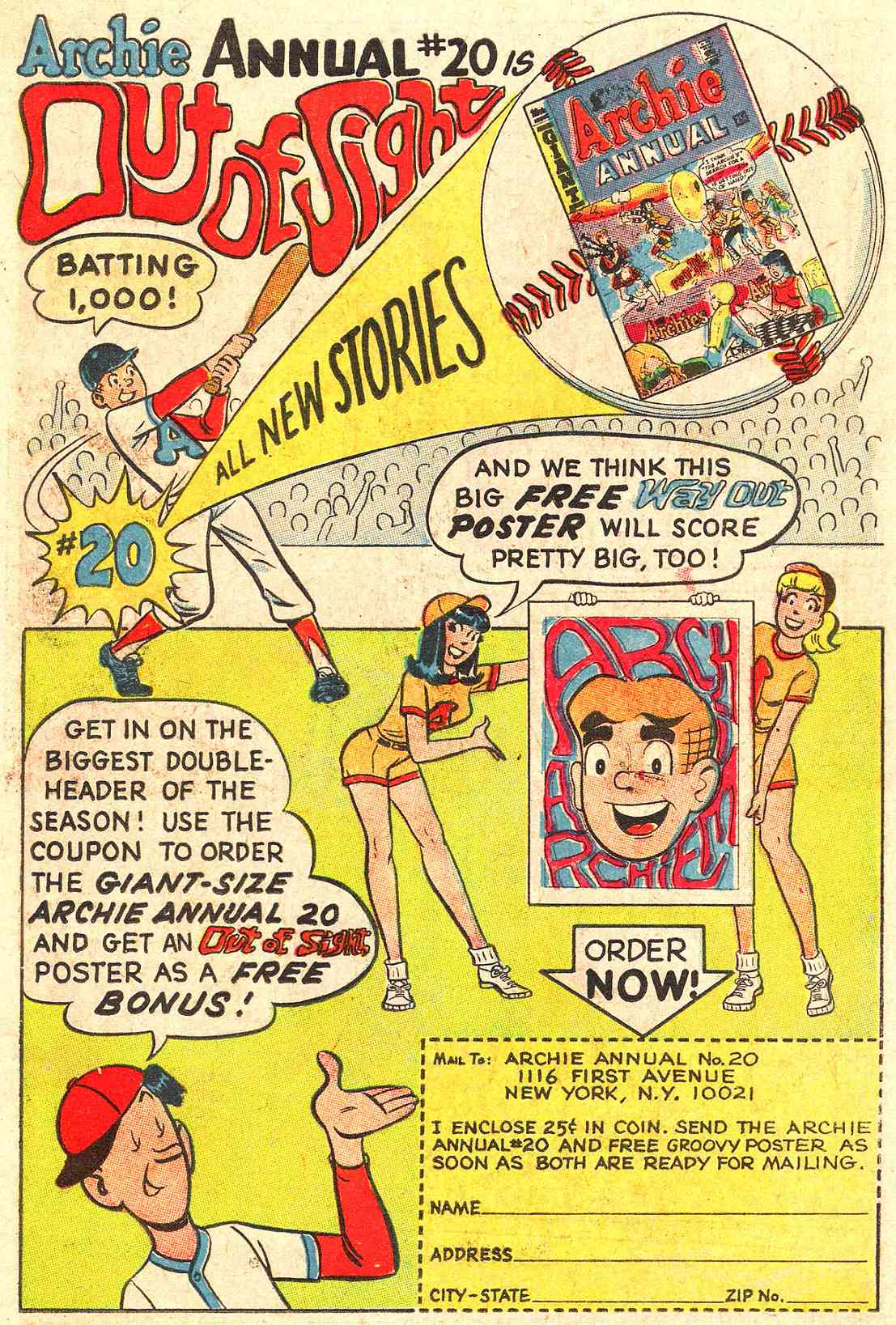 Read online Archie (1960) comic -  Issue #184 - 19
