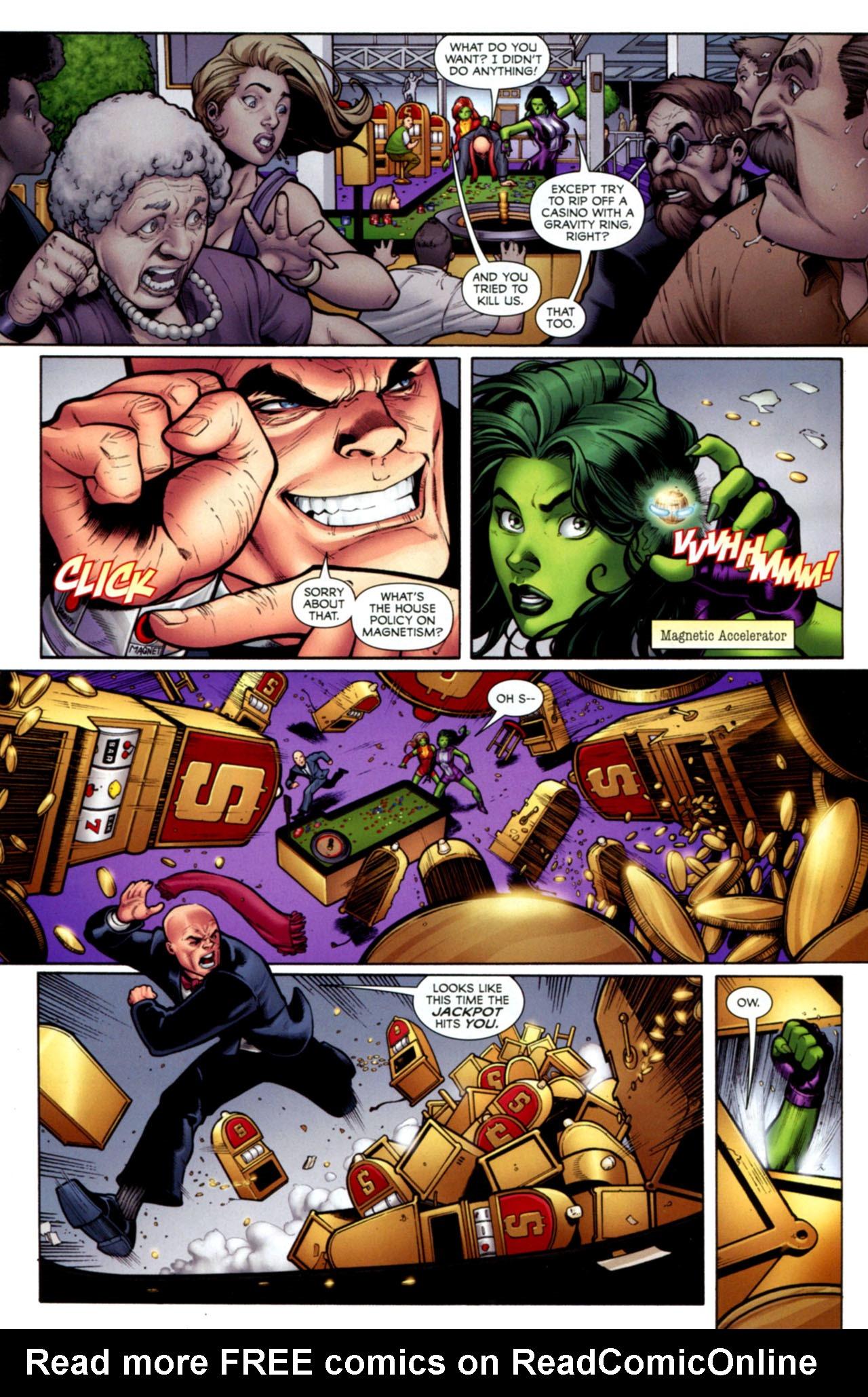 Read online She-Hulks comic -  Issue #1 - 5