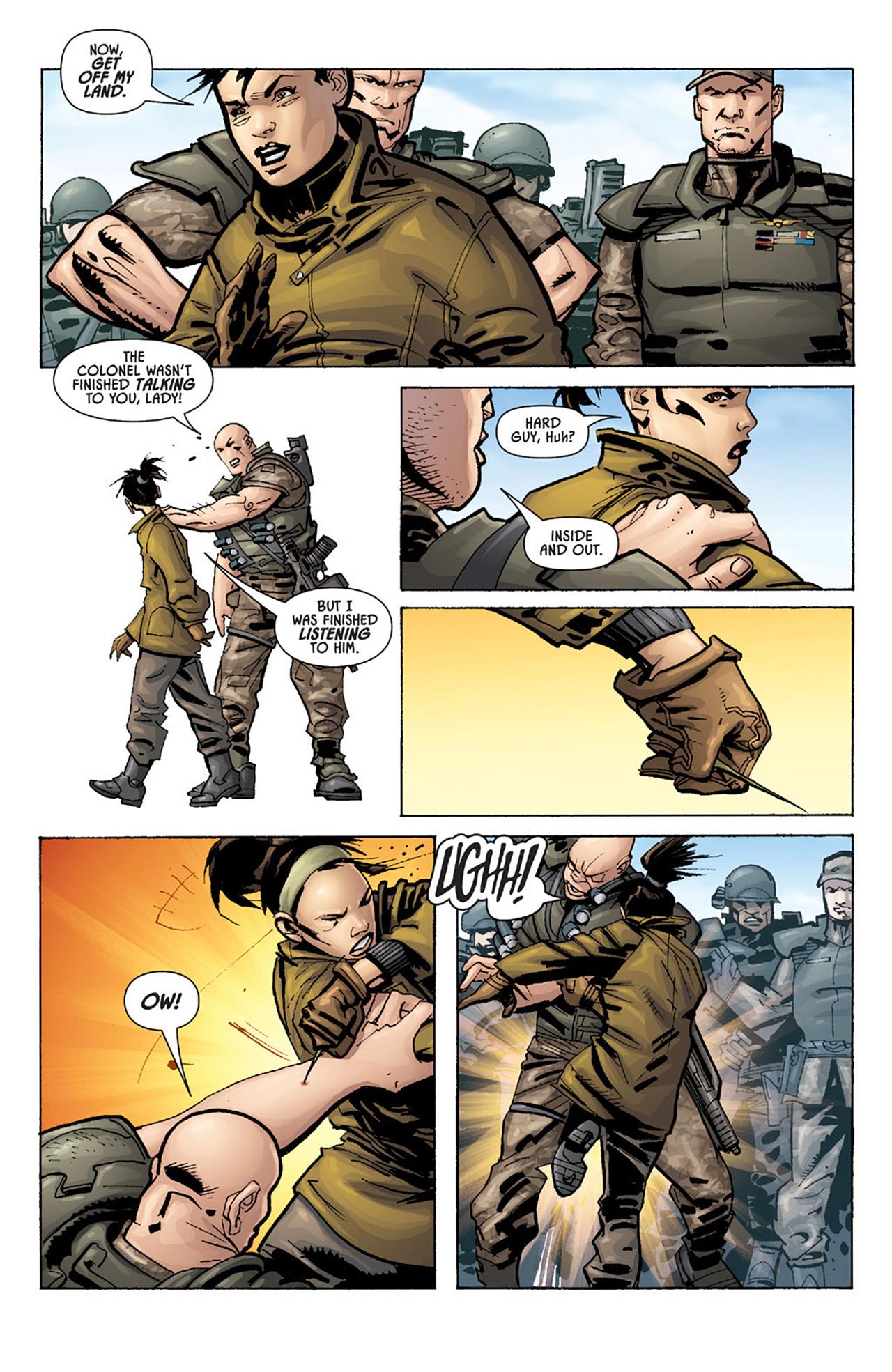 Read online Aliens vs. Predator: Three World War comic -  Issue #1 - 17