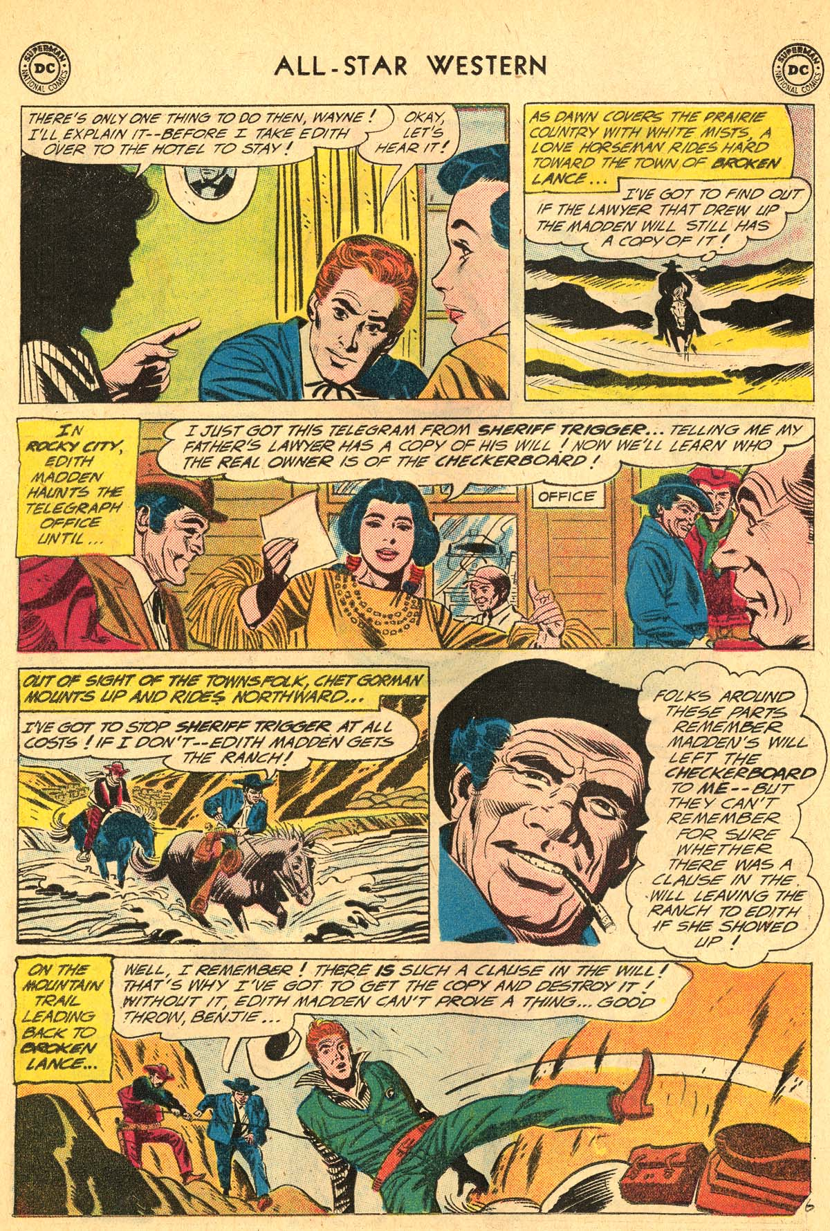 Read online All-Star Western (1951) comic -  Issue #115 - 30