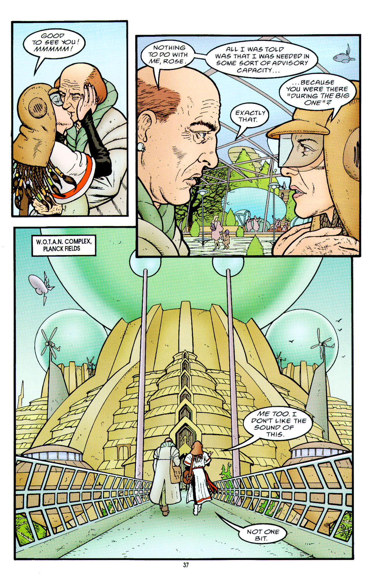 Read online Heart of Empire comic -  Issue #2 - 5
