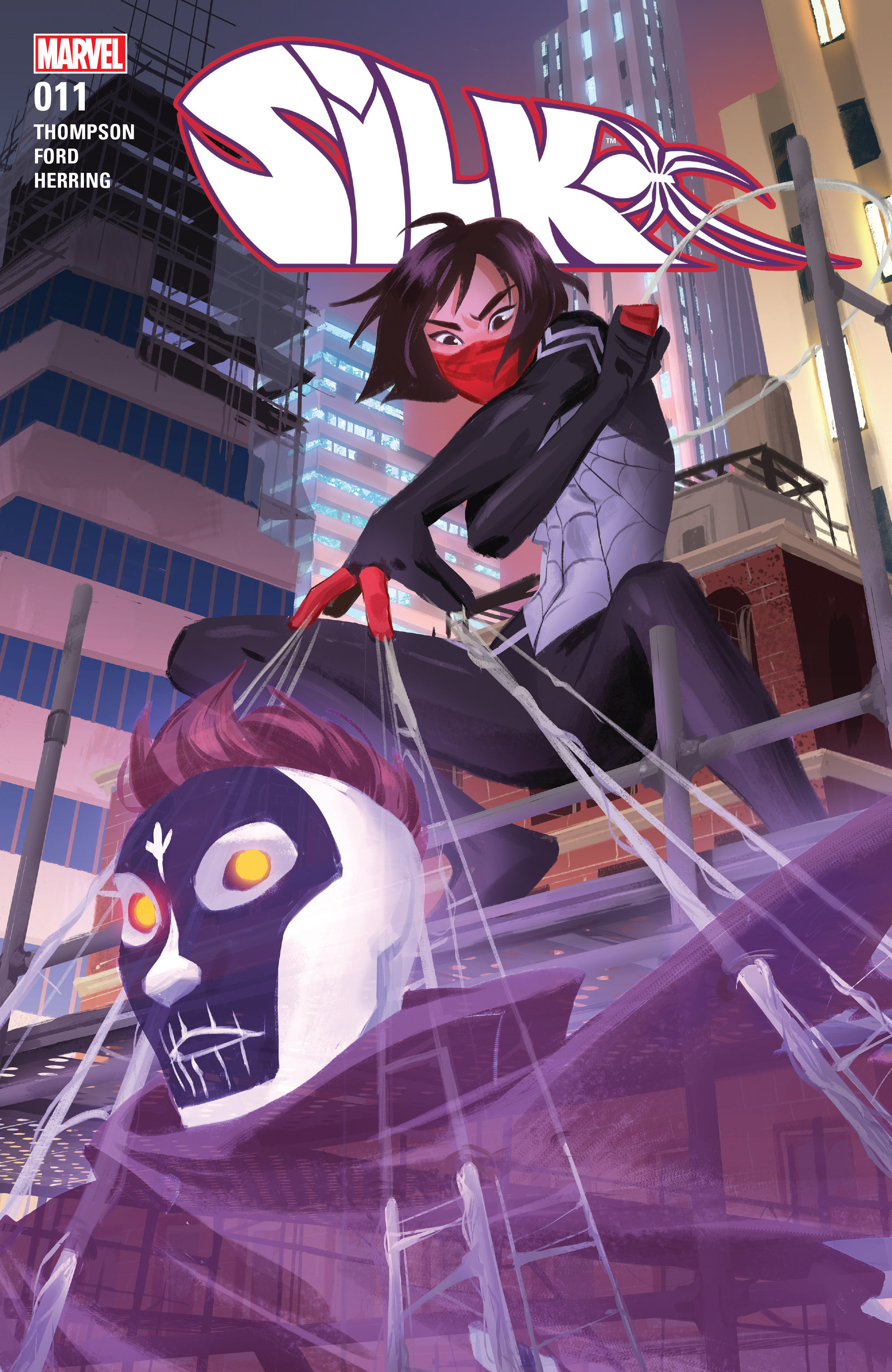 Read online Silk (2016) comic -  Issue #11 - 1
