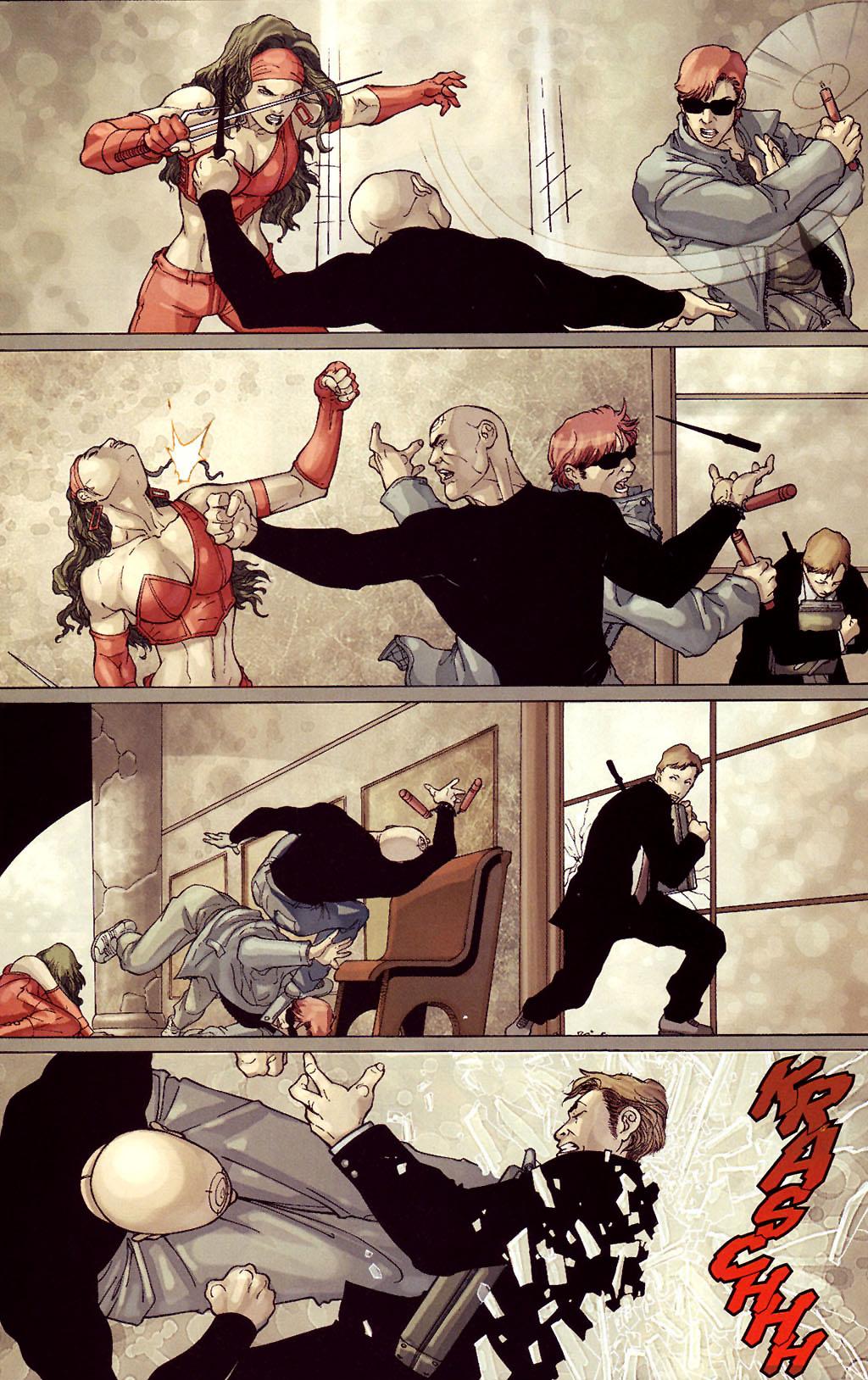Read online Ultimate Elektra comic -  Issue #4 - 23