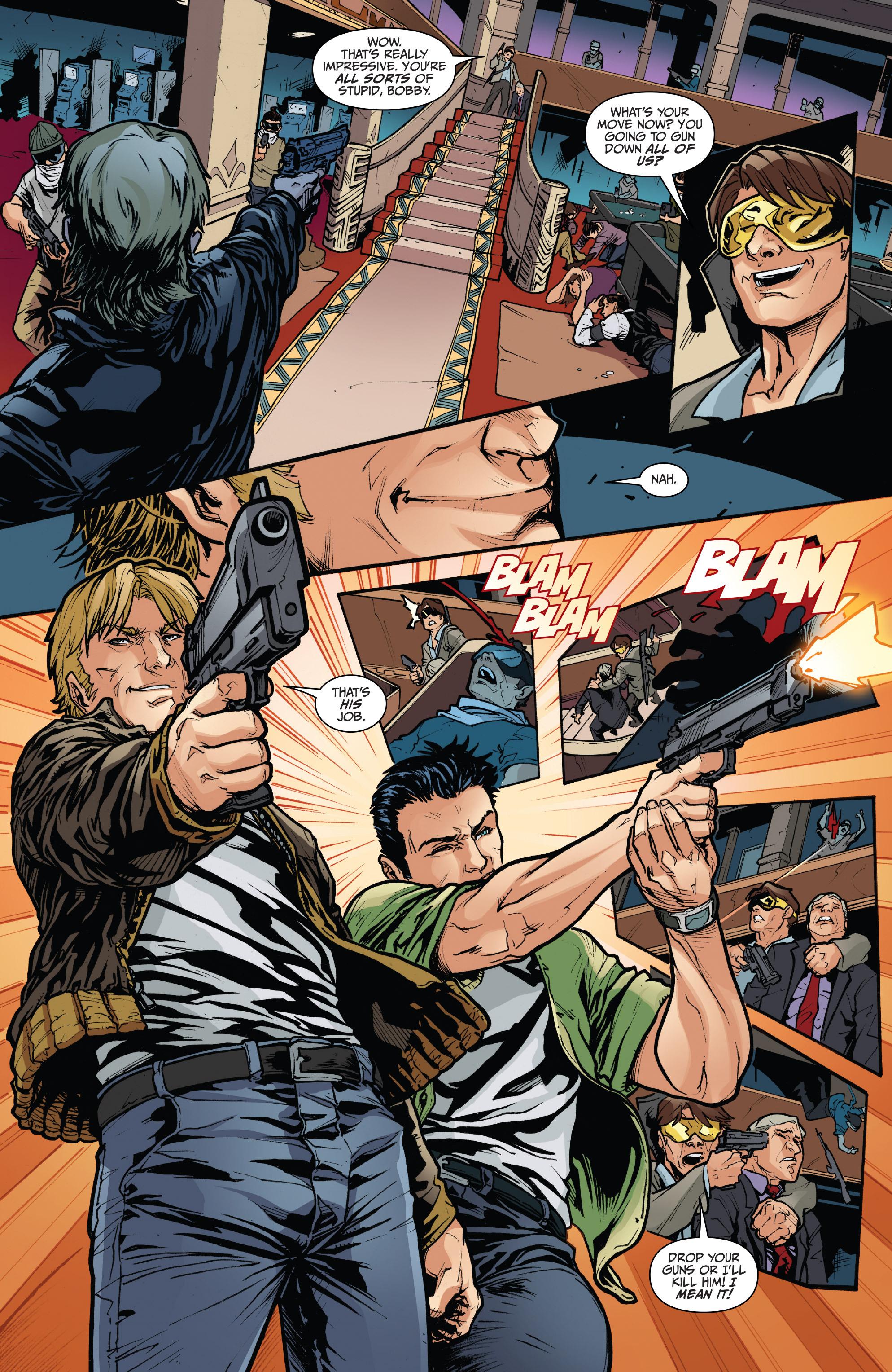 Read online 3 Guns comic -  Issue #6 - 10