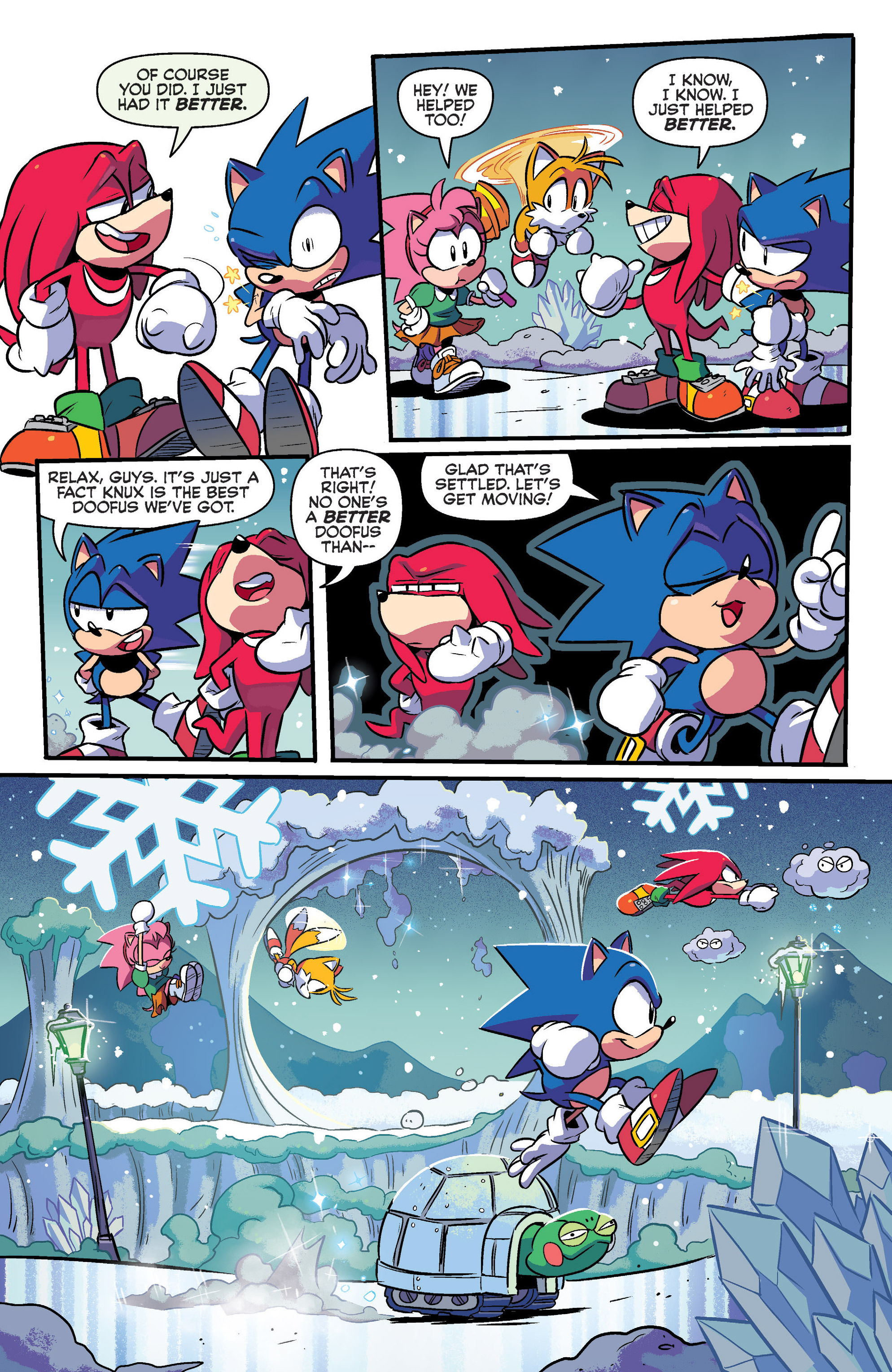 Read online Sonic: Mega Drive - The Next Level comic -  Issue # Full - 5