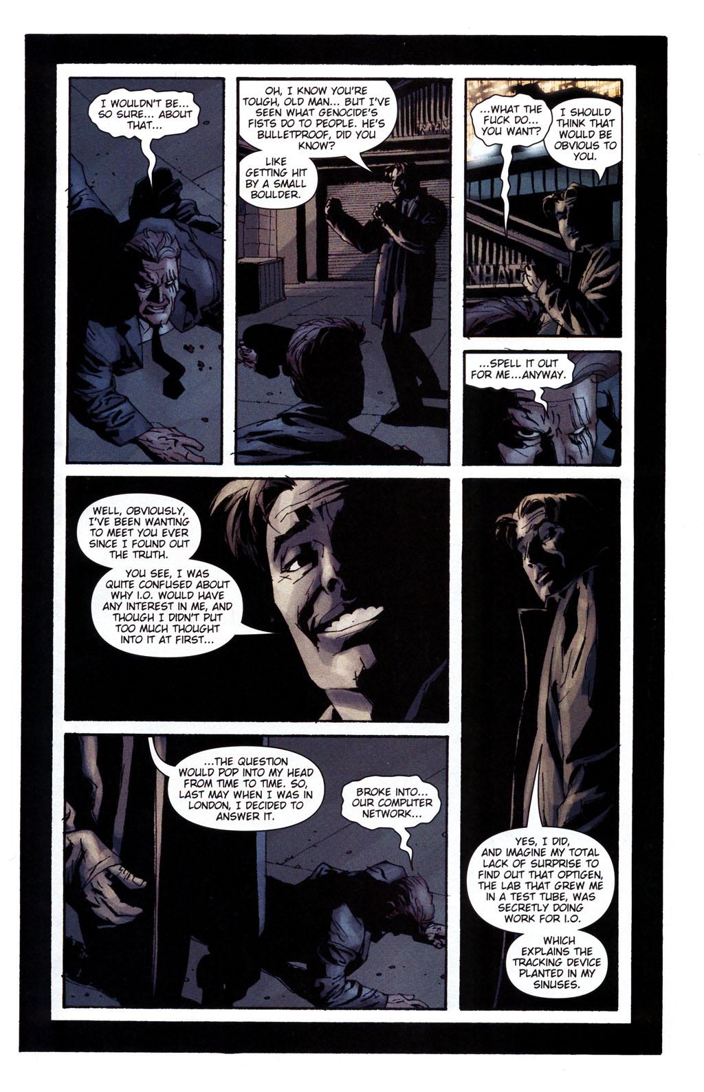 Read online Sleeper: Season Two comic -  Issue #5 - 20