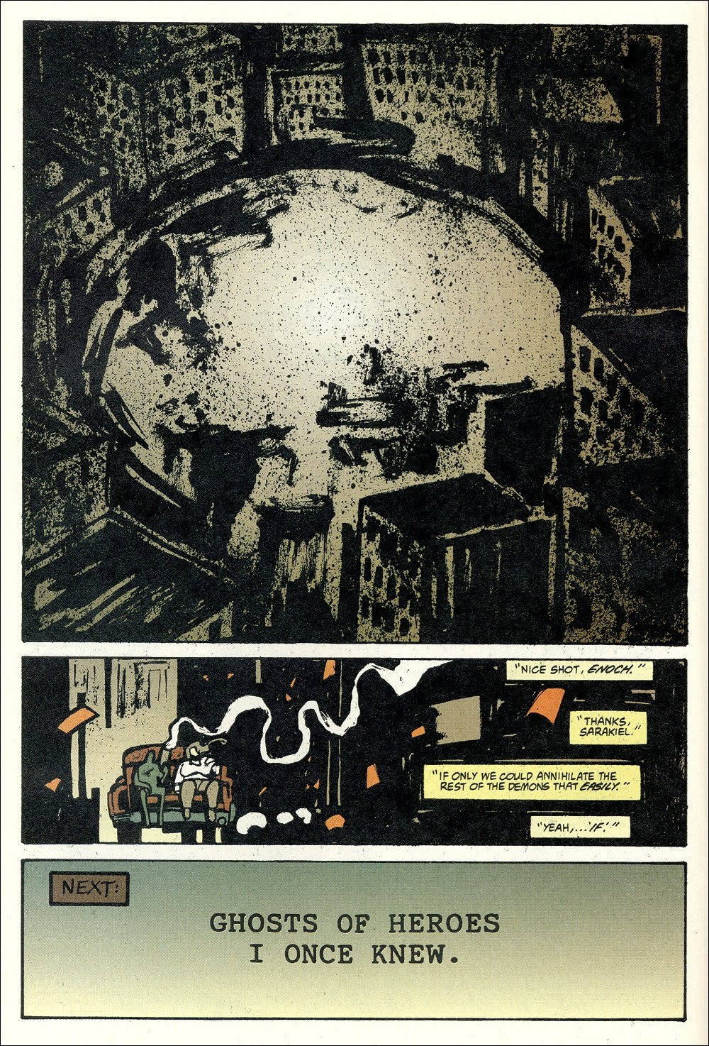 Read online Ted McKeever's Metropol comic -  Issue #11 - 20