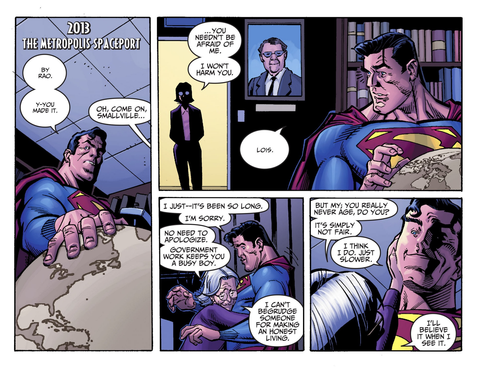 Read online Adventures of Superman [I] comic -  Issue #47 - 7