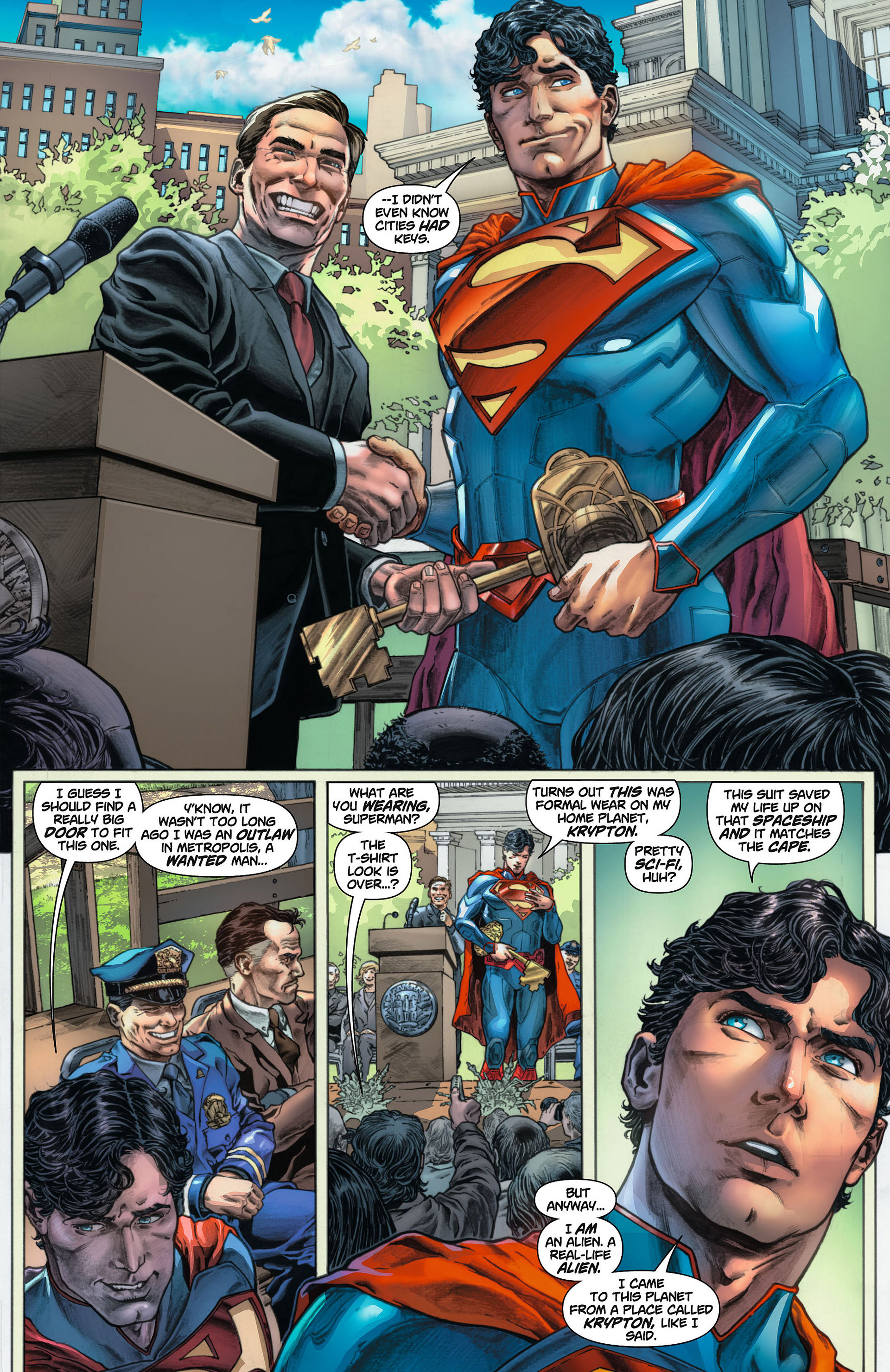 Read online Action Comics (2011) comic -  Issue #8 - 25