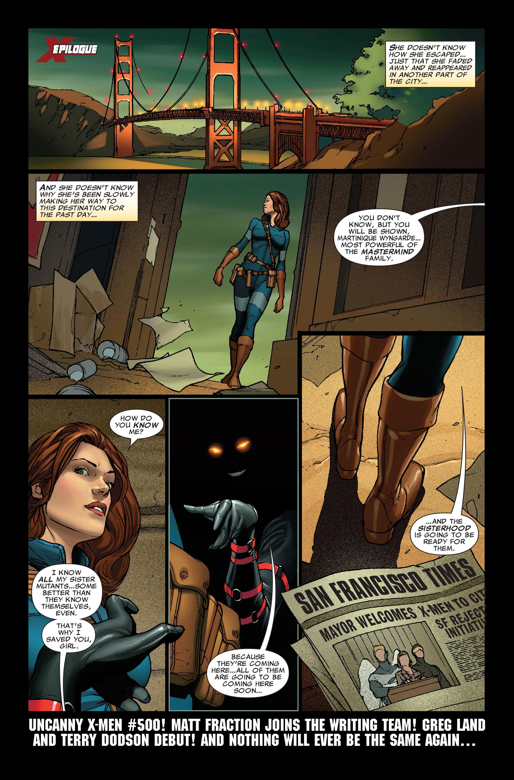 Read online Uncanny X-Men (1963) comic -  Issue #499 - 24