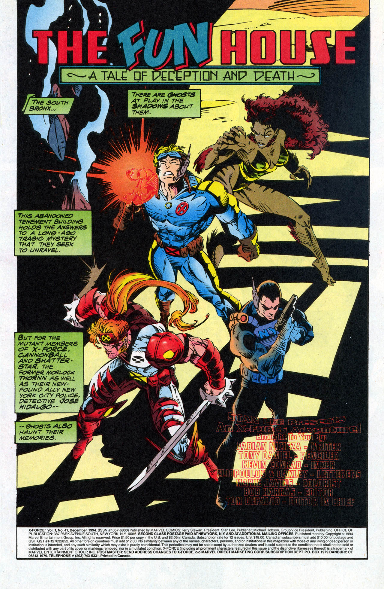 Read online X-Force (1991) comic -  Issue #41 - 3