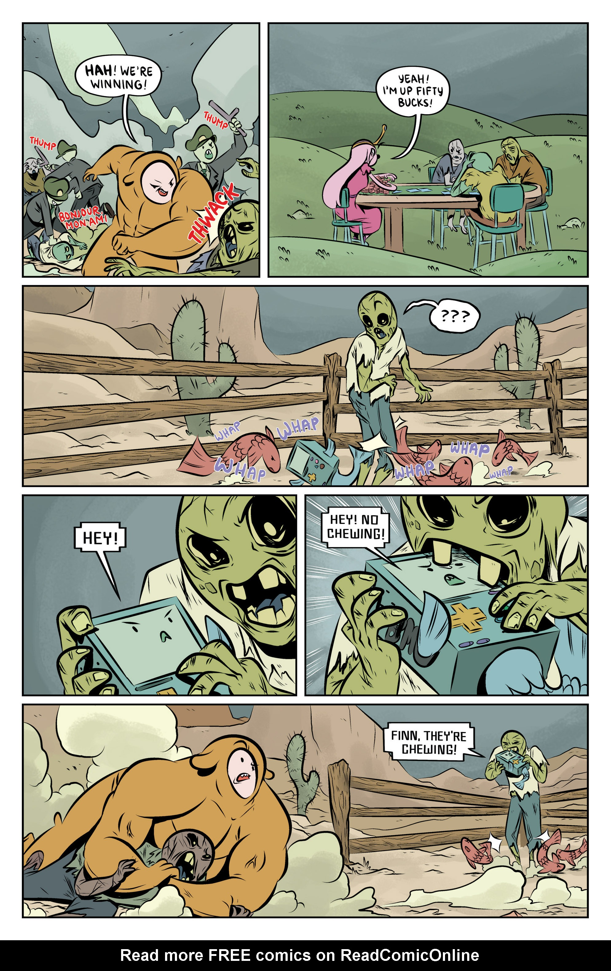 Read online Adventure Time: The Flip Side comic -  Issue #6 - 18