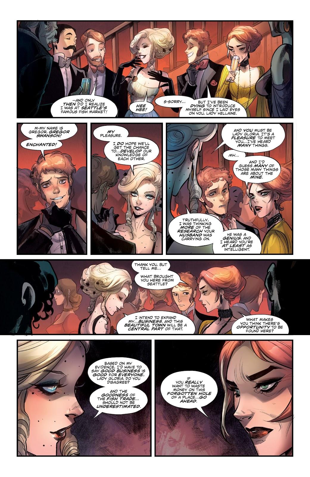 Read online Mirka Andolfo's Mercy comic -  Issue #2 - 18